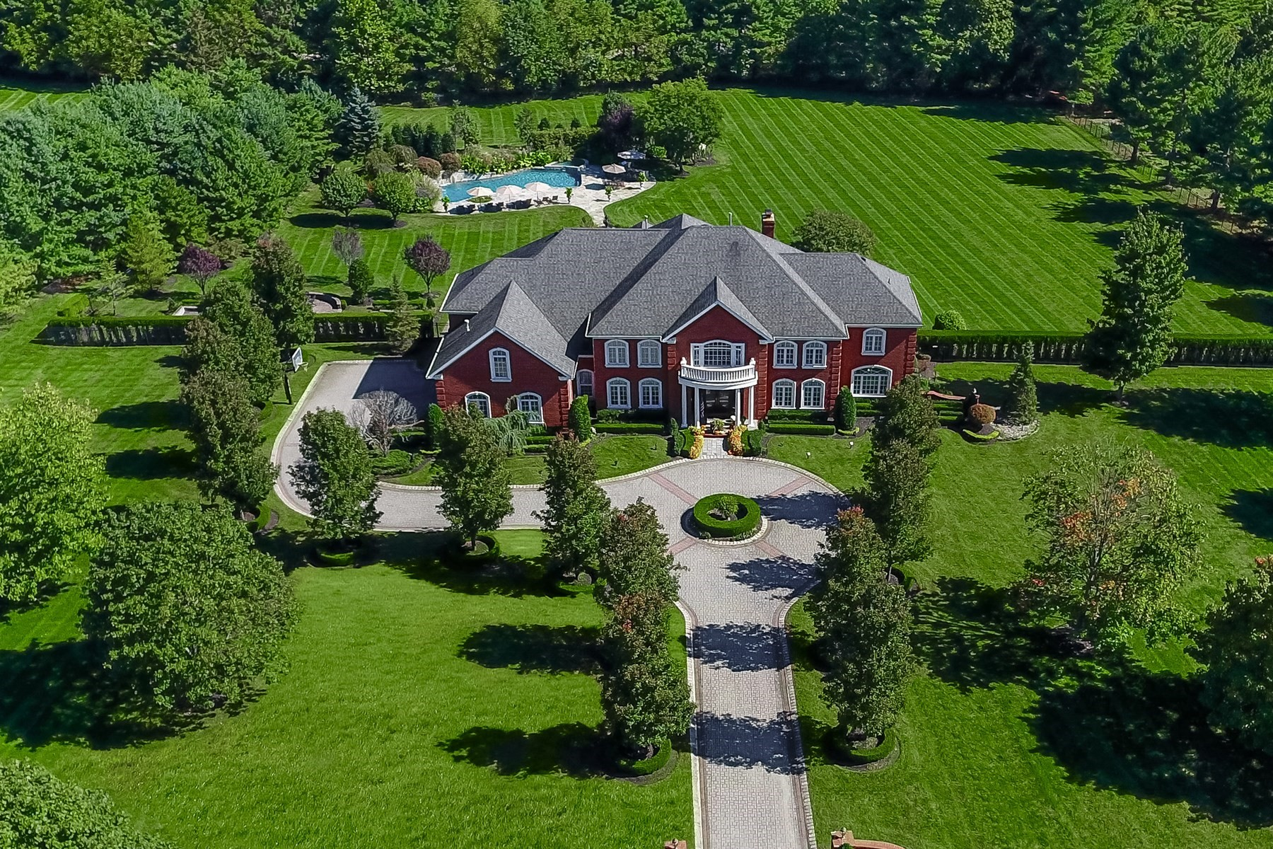Single Family Home for Sale at For the Connoisseur of Life 9 Evergreen Lane Colts Neck, New Jersey, 07722 United States