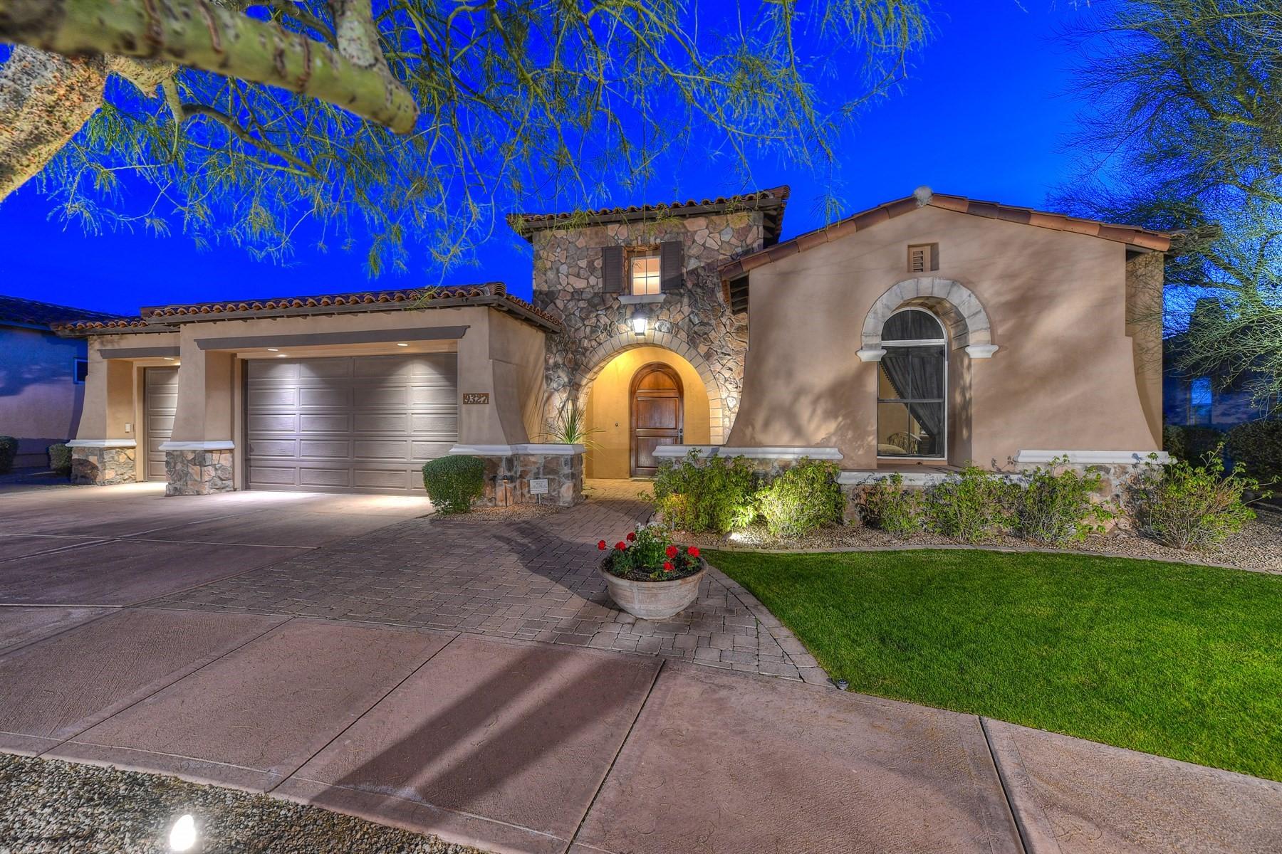 Maison unifamiliale pour l Vente à Highly upgraded home in desirable DC Ranch 9327 E Mountain Spring Rd Scottsdale, Arizona, 85255 États-Unis