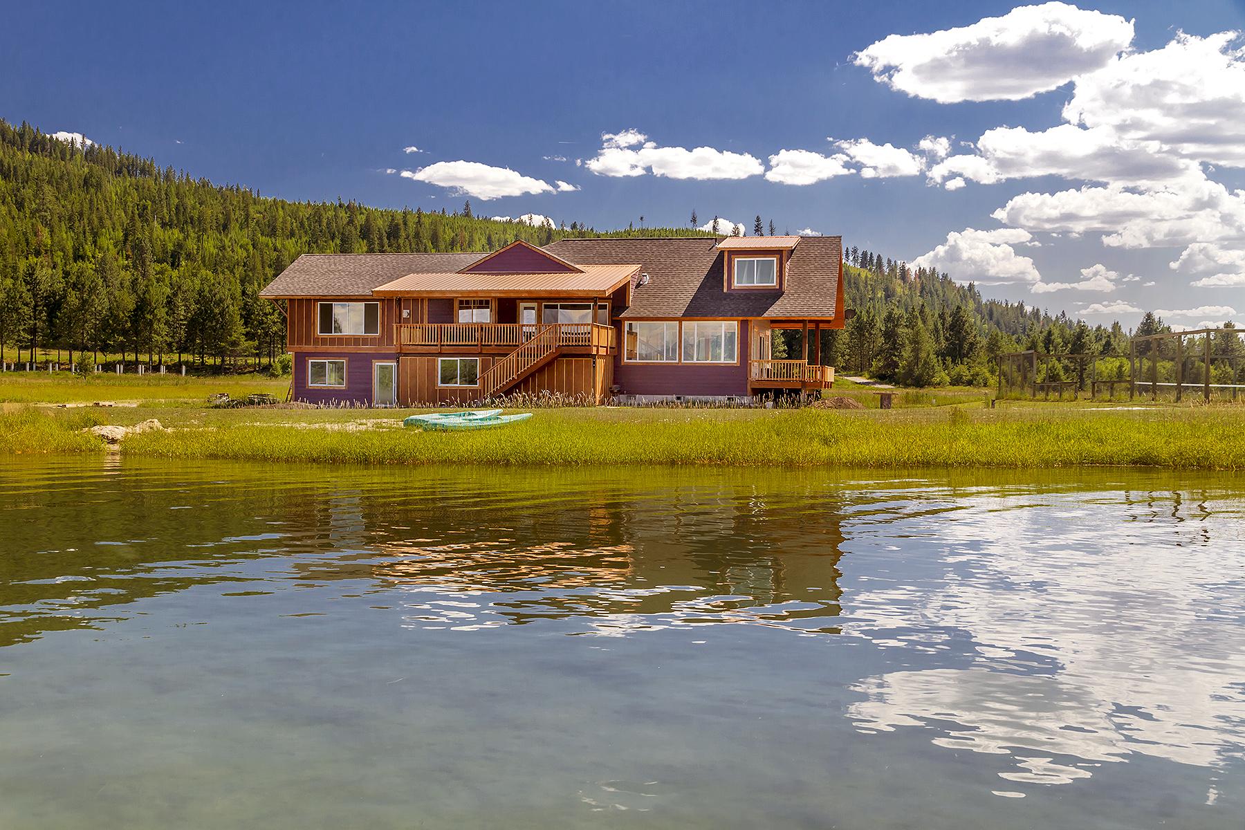 獨棟家庭住宅 為 出售 在 366 Swan's Landing 366 Swans Landing Sagle, 愛達荷州, 83860 美國