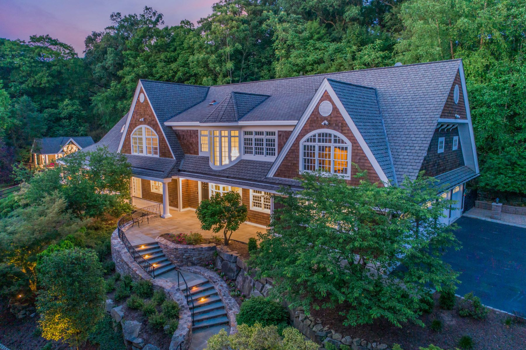 Single Family Homes for Sale at 3 ACRE COMPOUND 34 E Saddle River Rd Saddle River, New Jersey 07458 United States
