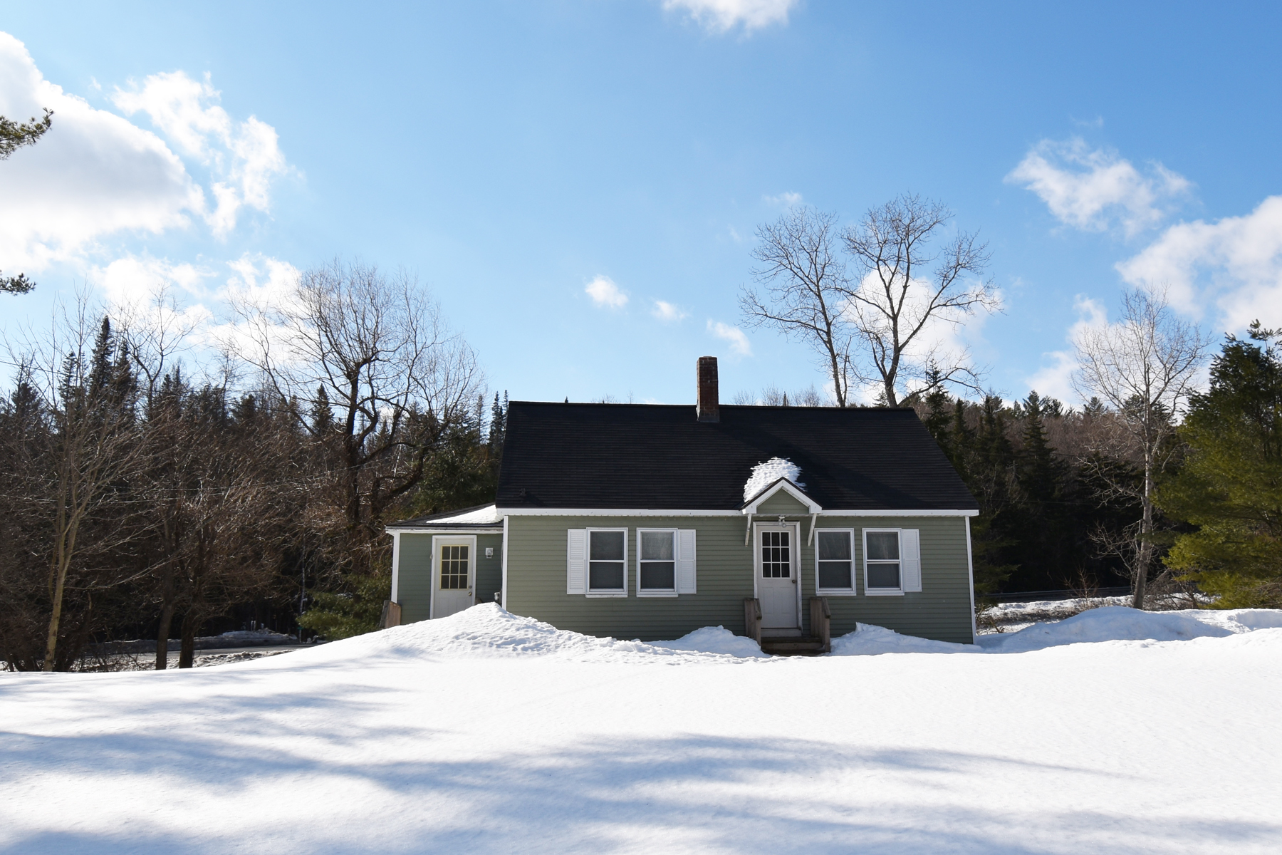 Single Family Home for Sale at Affordable Cape Home 103 Shunpike Road Rd Mount Holly, Vermont 05758 United States