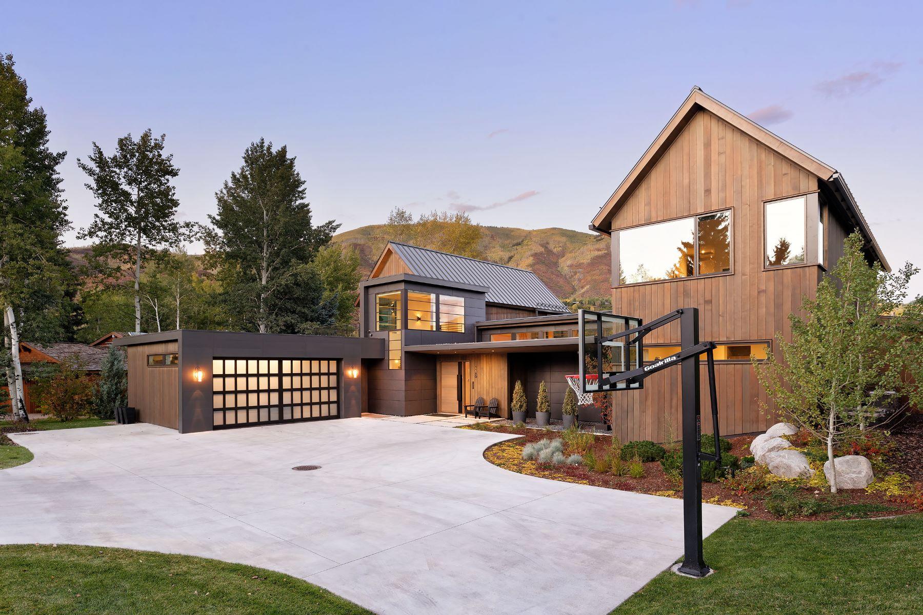 Additional photo for property listing at Modern Elegance on Snowbunny 1260 Snowbunny Lane Aspen, Colorado 81611 Estados Unidos