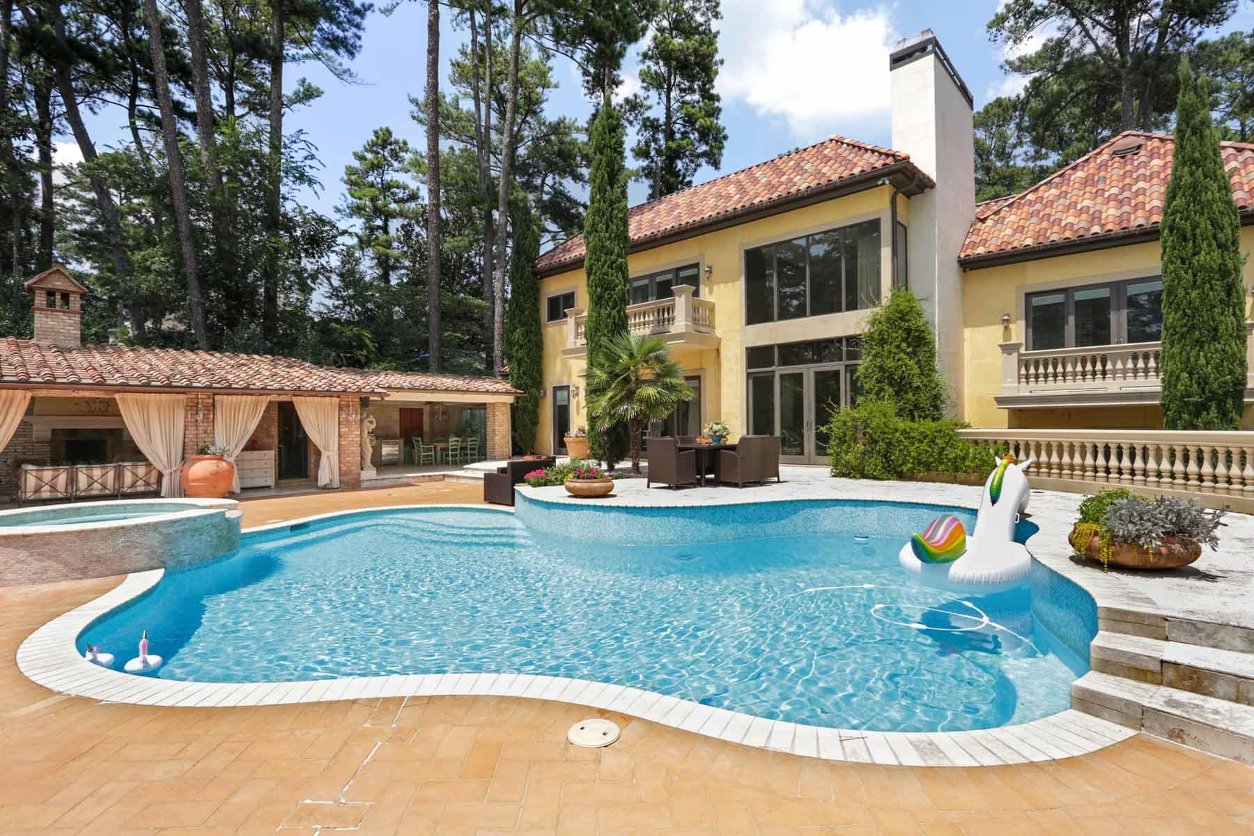 Villa per Affitto alle ore Spectacular European Buckhead Estate 1586 Peachtree Battle Avenue NW Atlanta, Georgia 30327 Stati Uniti
