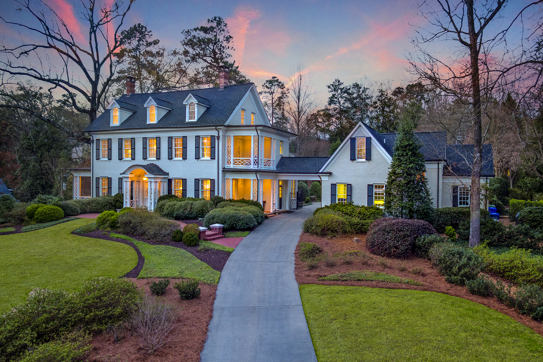 Single Family Homes 용 매매 에 A Sophisticated Buckhead Masterpiece 41 Muscogee Avenue NW, Atlanta, 조지아 30305 미국