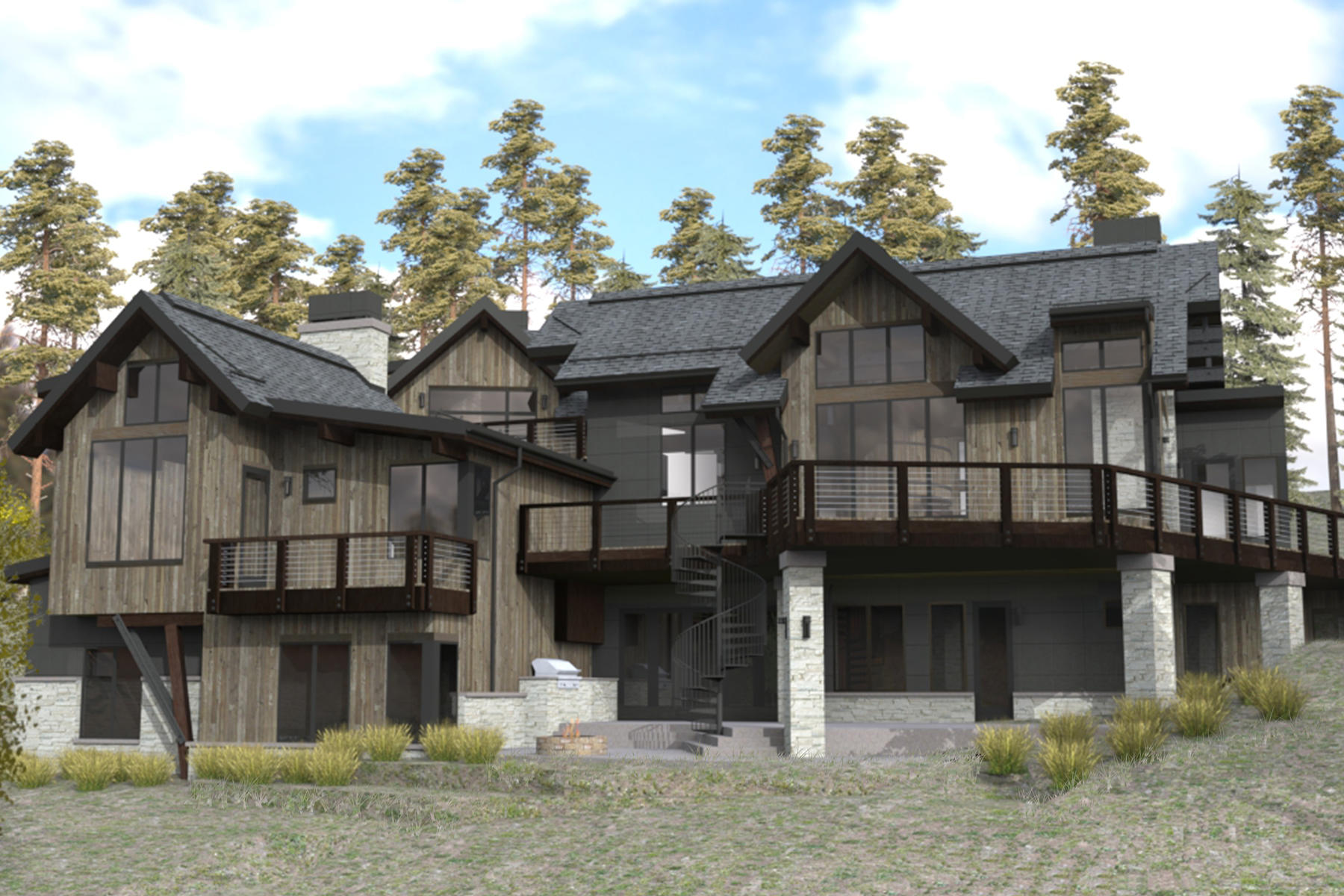 Single Family Homes para Venda às Outlook at Discovery Hill 1144 Discovery Hill Drive, Breckenridge, Colorado 80424 Estados Unidos