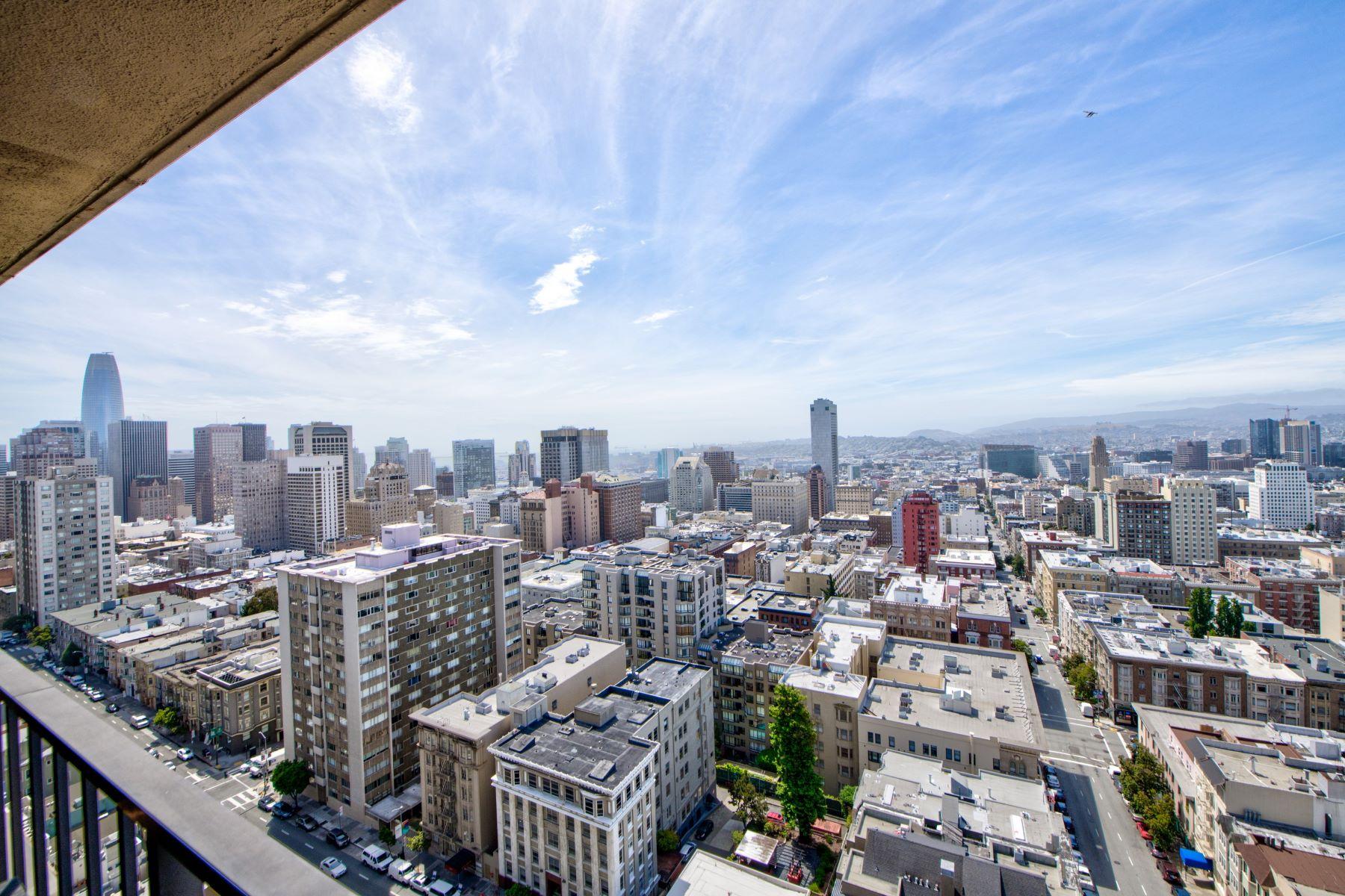 Condominiums for Active at Spectacular Nob Hill View Condominium 1177 California Street #1514 San Francisco, California 94108 United States