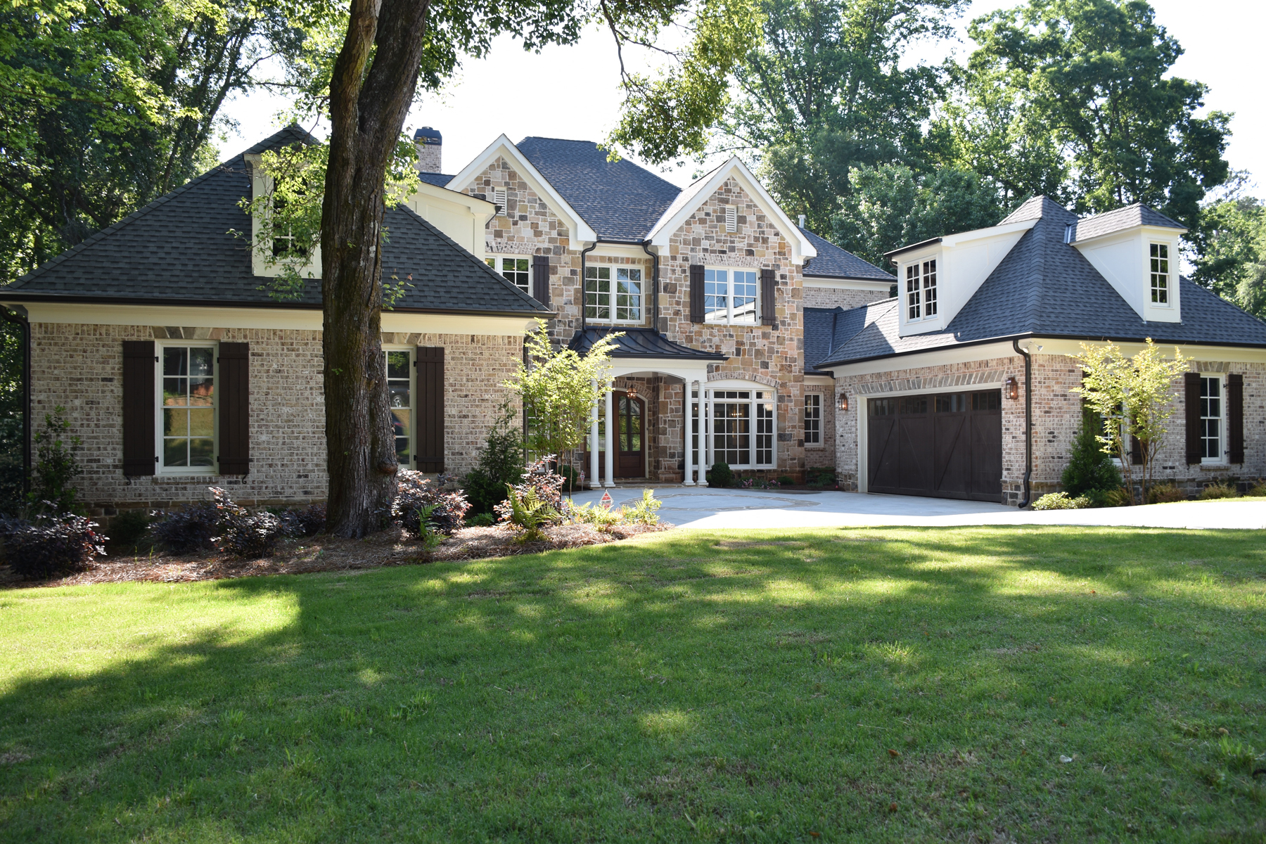 Single Family Home for Active at New Home In Chastain 4685 Lake Forrest Drive Atlanta, Georgia 30342 United States
