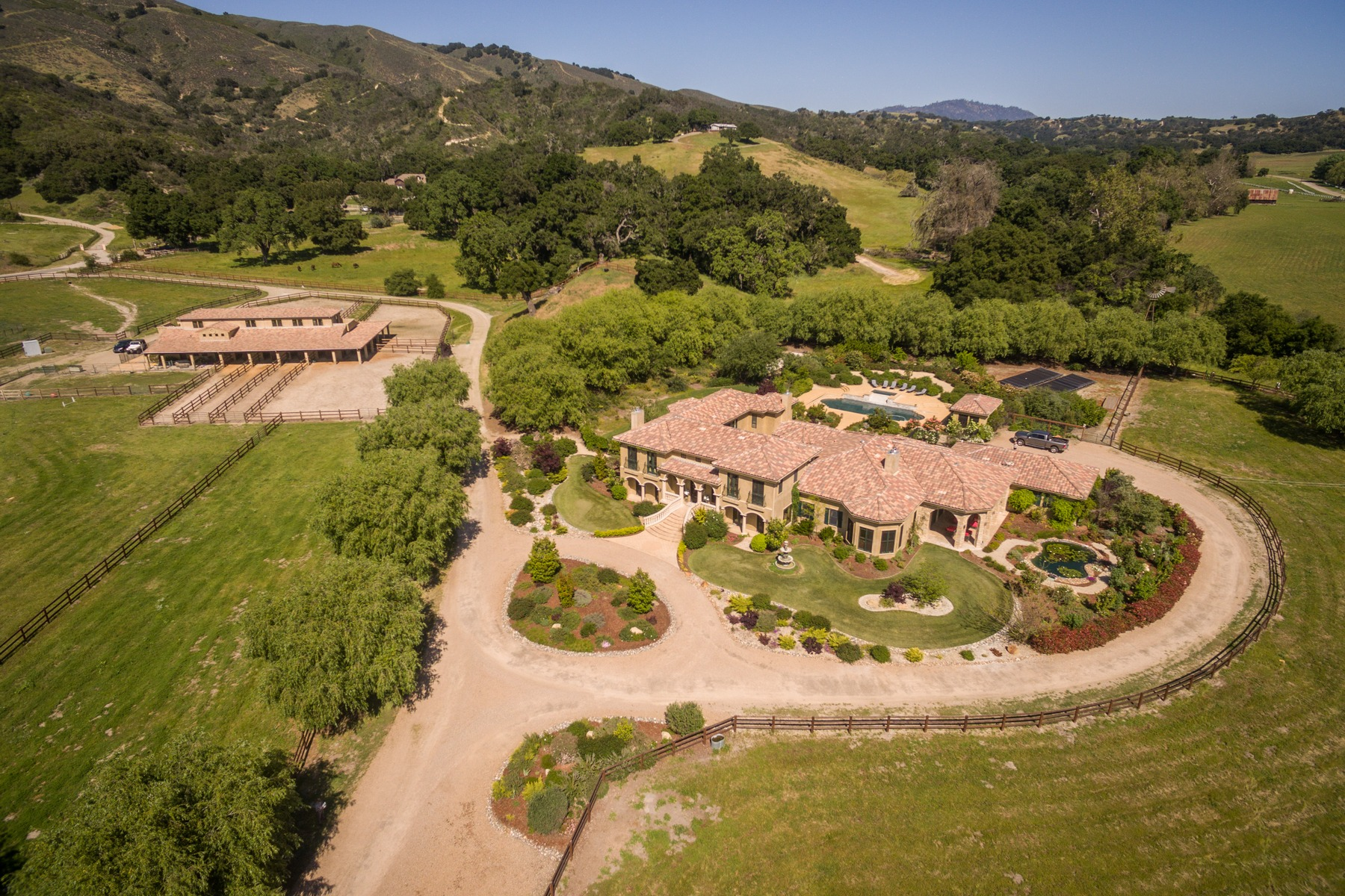 Single Family Home for Sale at Tuscan-Style Equestrian Estate 1494 Big Baldy Way Arroyo Grande, California, 93420 United States
