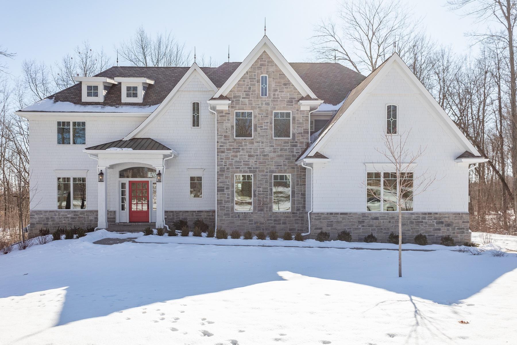 Single Family Homes for Sale at Clarkston 7525 Maple Ridge Drive Clarkston, Michigan 48346 United States