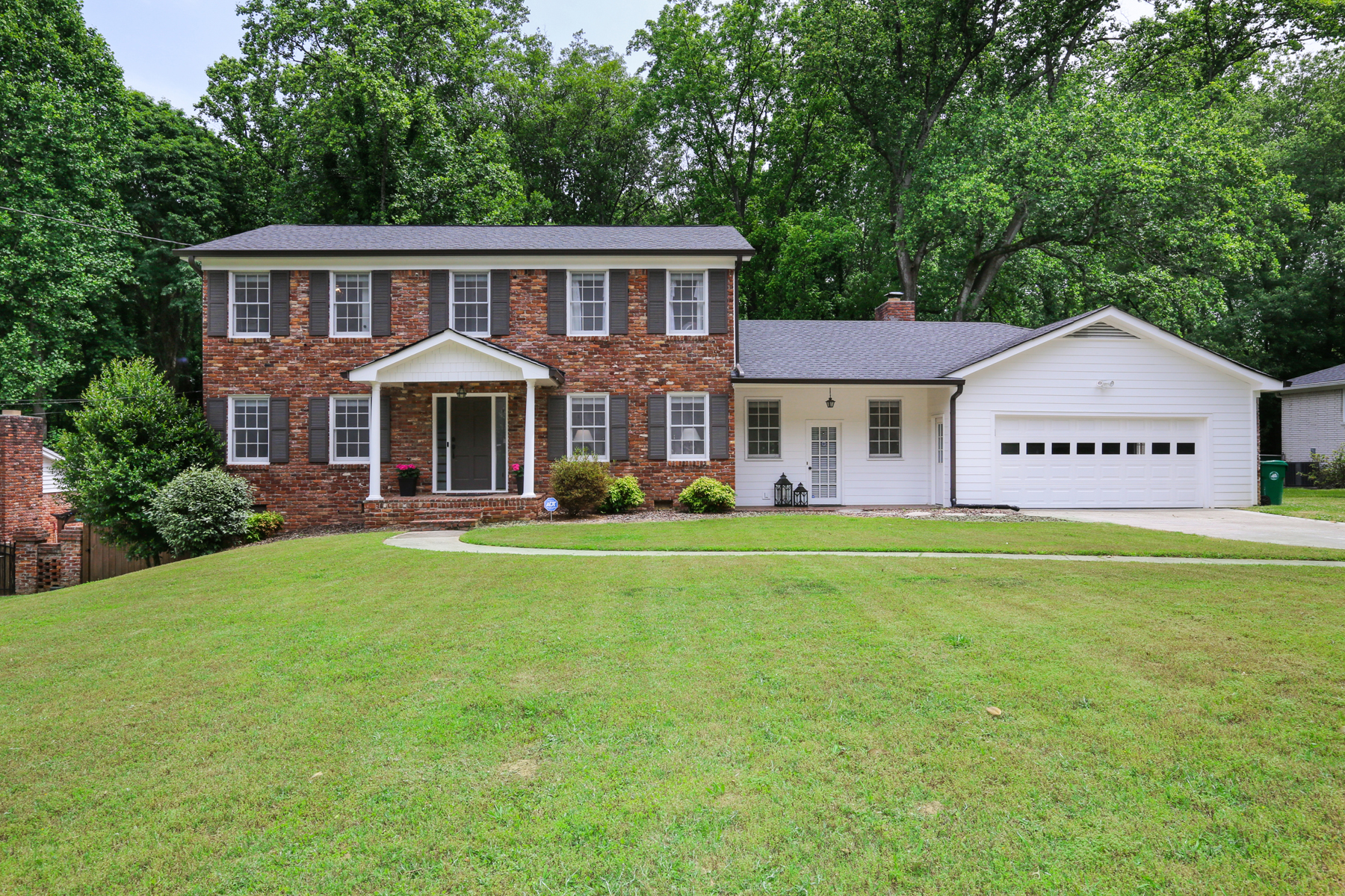 Single Family Homes for Sale at Darling Dunwoody Traditional Home 1614 Bishop Hollow Run Dunwoody, Georgia 30338 United States
