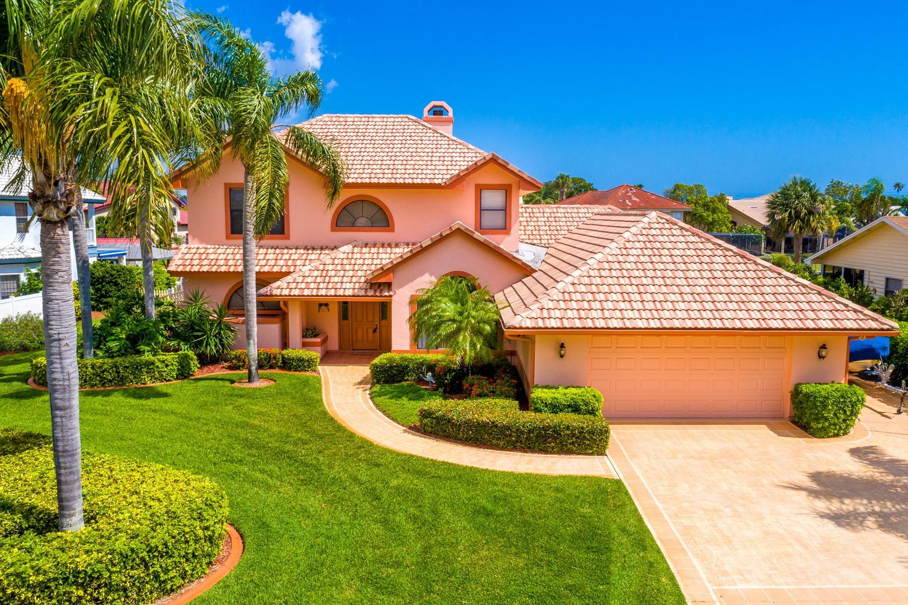 단독 가정 주택 용 매매 에 408 Anchor Key Melbourne Beach, 플로리다, 32951 미국