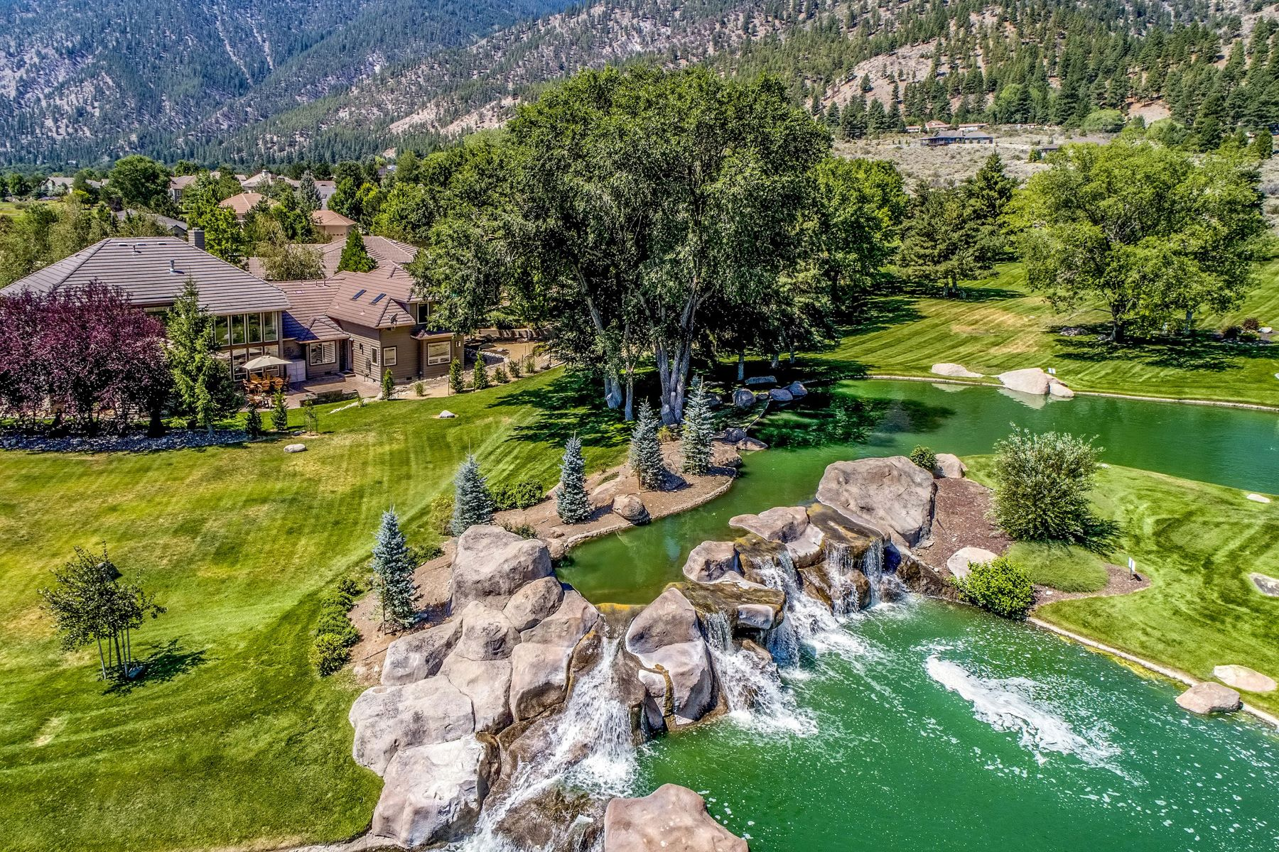 Single Family Homes for Active at Genoa Lakes Golf Course 2466 Genoa Highlands Drive Genoa, Nevada 89411 United States