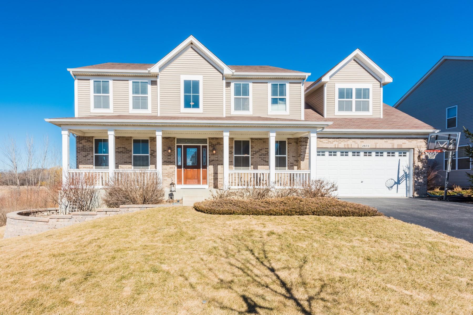 Maison unifamiliale pour l Vente à Handcock Model 2673 Water Lily Lane Wauconda, Illinois, 60084 États-Unis