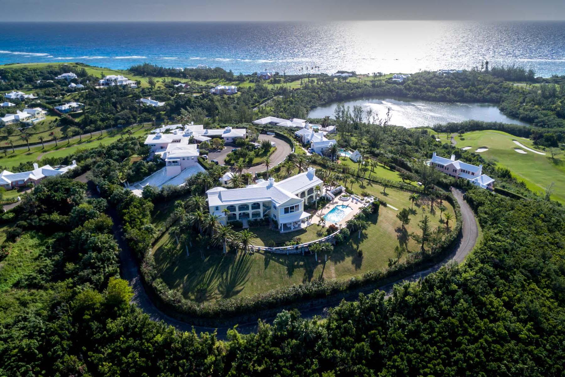 Tek Ailelik Ev için Satış at Forty Palms 15 Glebe Hil Hamilton Parish, HS02 Bermuda