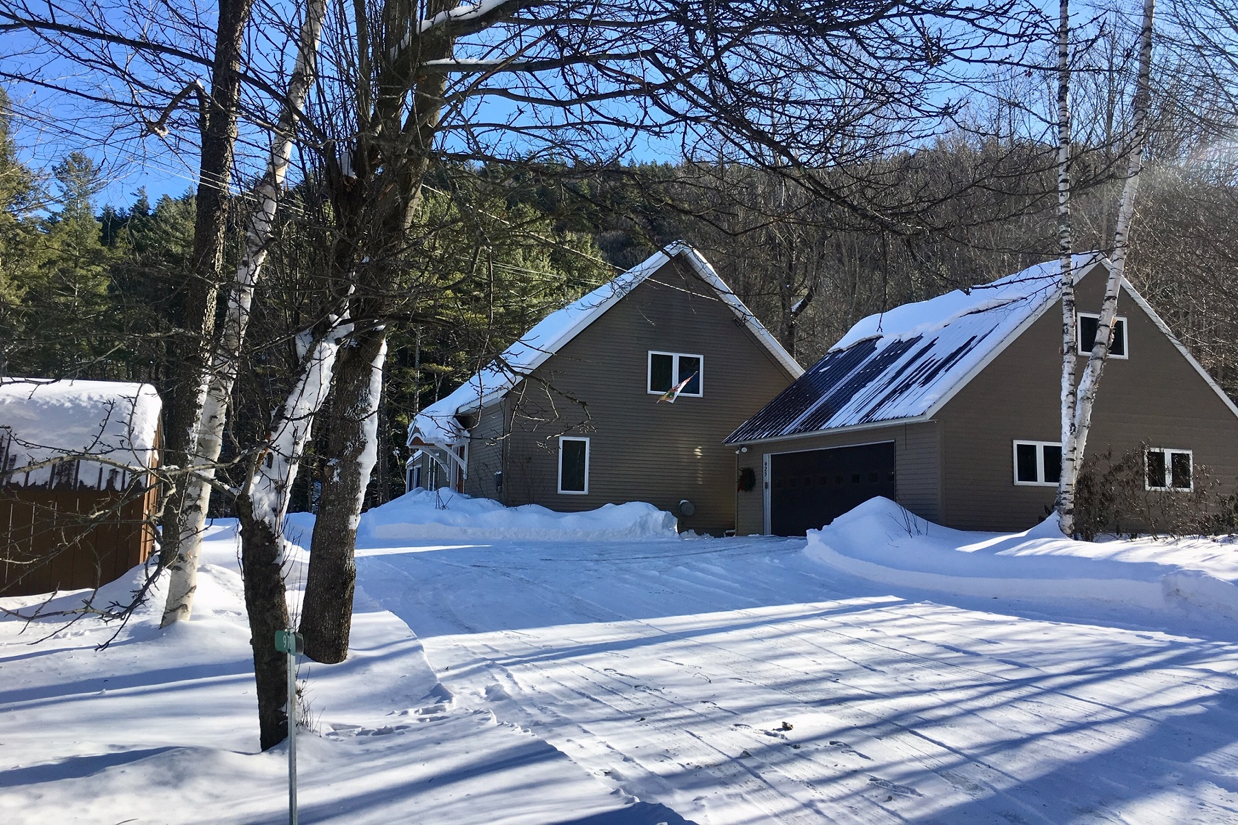 Single Family Home for Sale at Modern Cape Style Home 975 Ski Tow Road West Windsor, Vermont 05037 United States