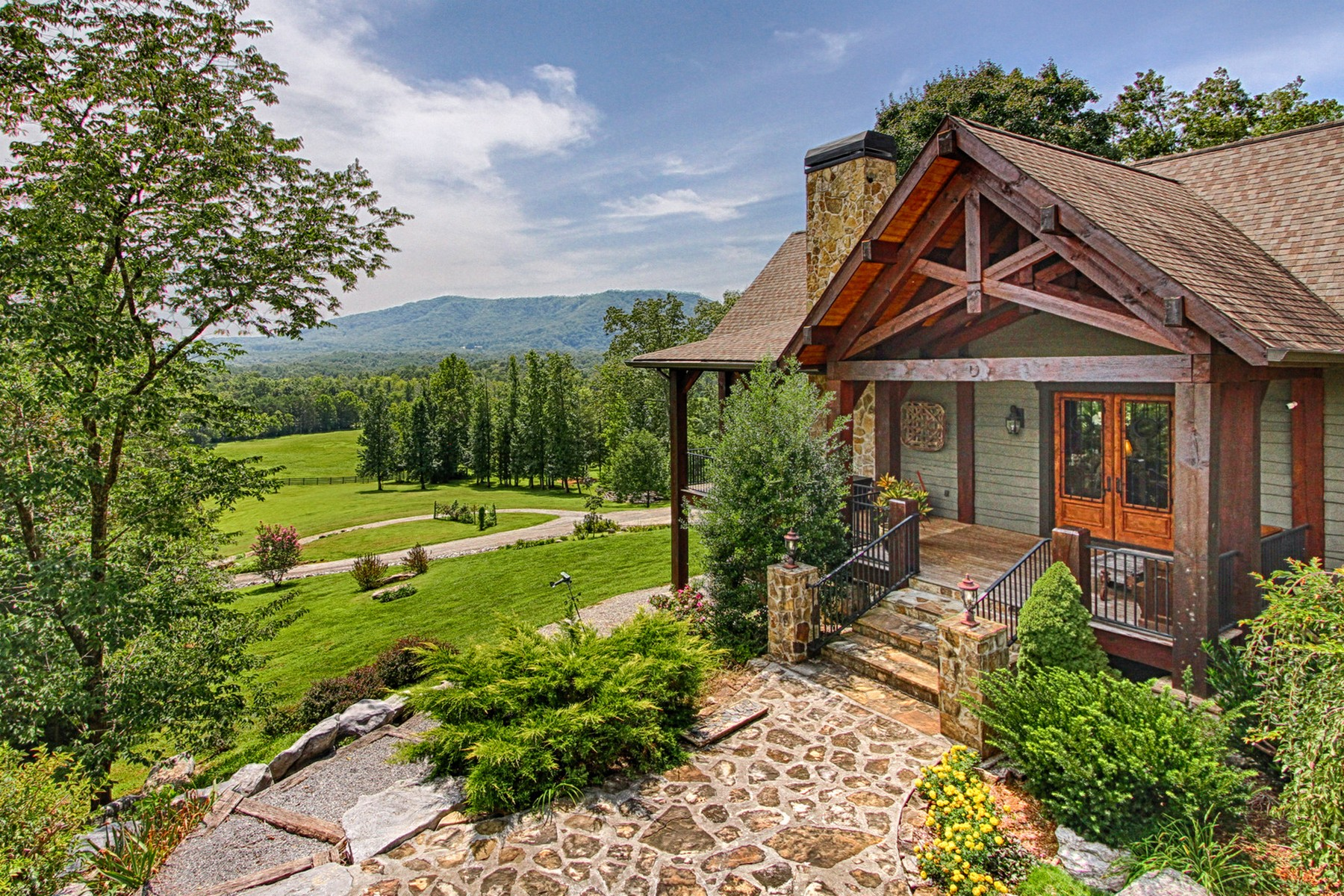 Single Family Homes for Active at Starr View Farm 790 Lick Creek Road Tellico Plains, Tennessee 37385 United States