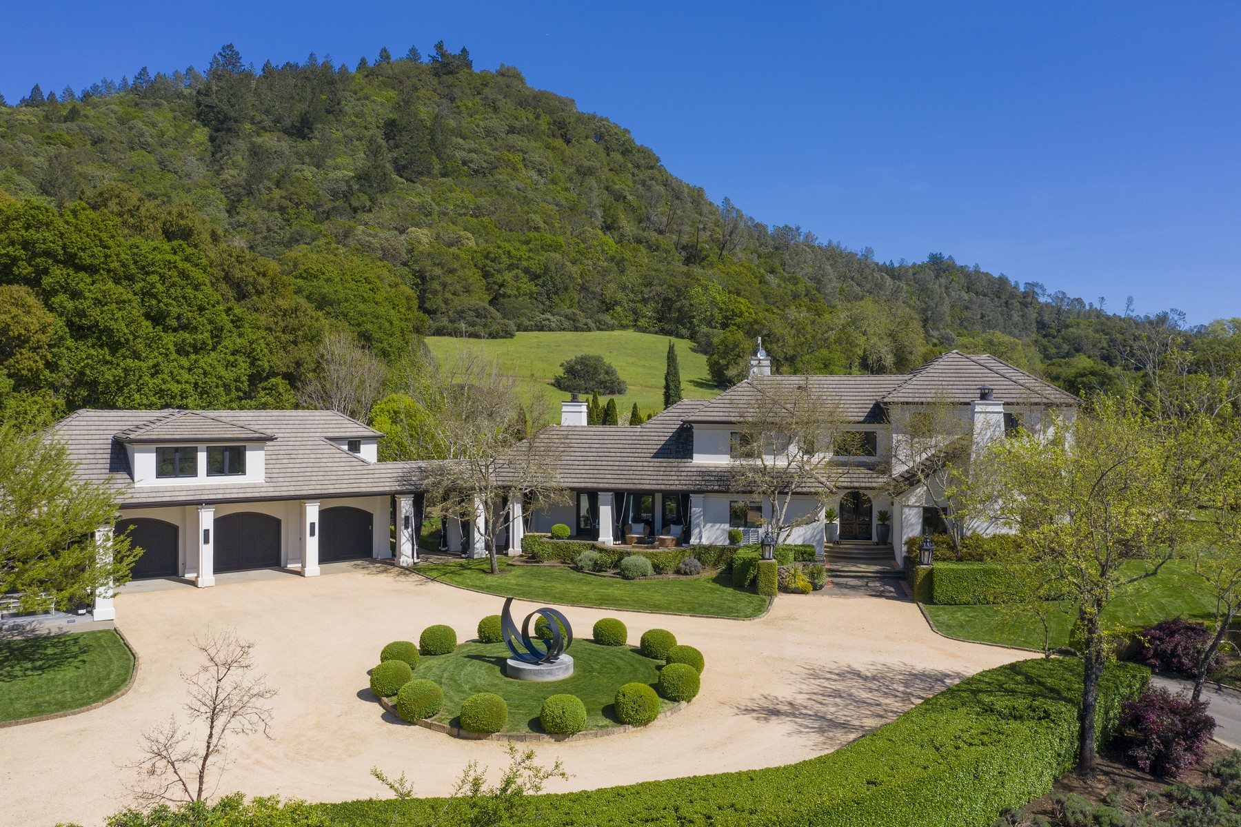 Vineyard Real Estate for Sale at Alexander Valley Vineyard Estate 4395 Pine Flat Road Healdsburg, California 95448 United States