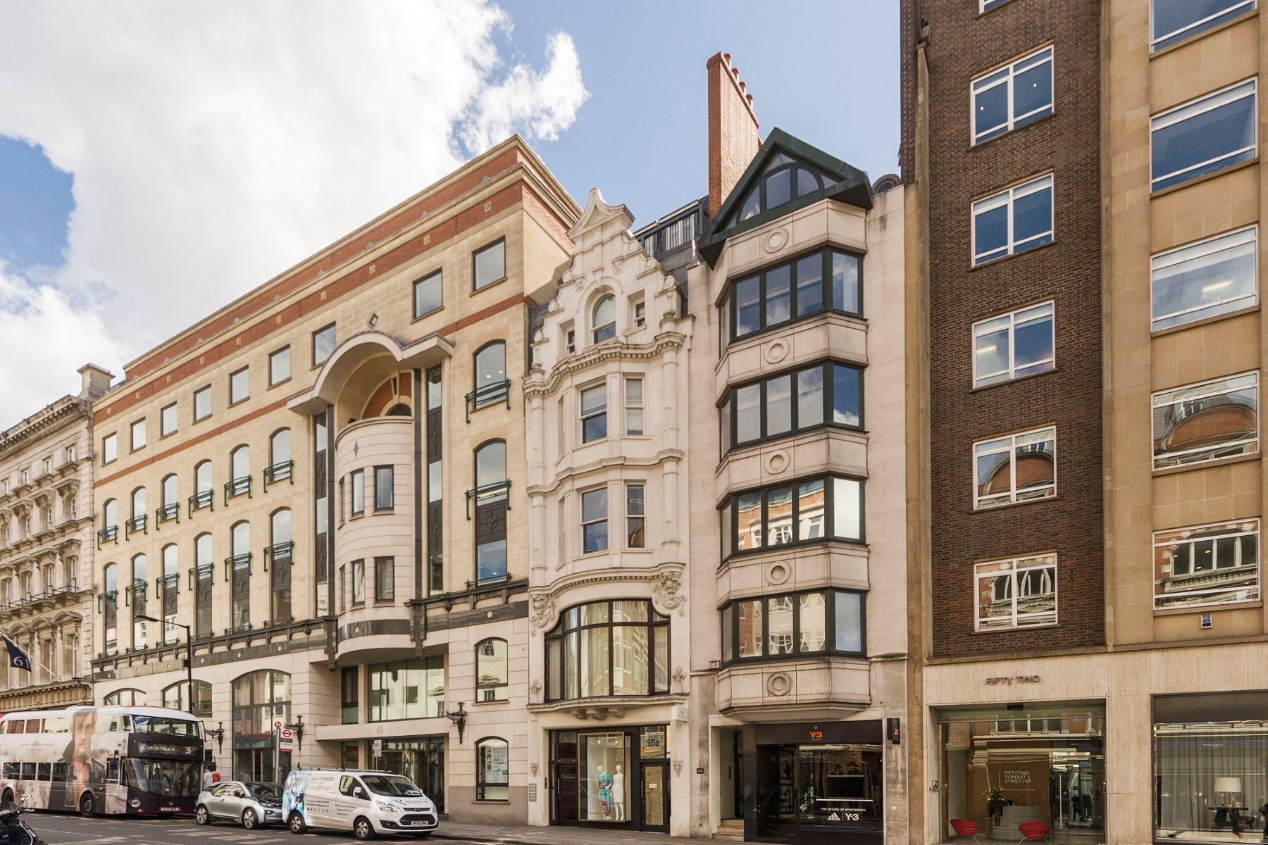 Apartman Dairesi için Satış at Penthouse, 55 Conduit Street London, Ingiltere, Ingiltere
