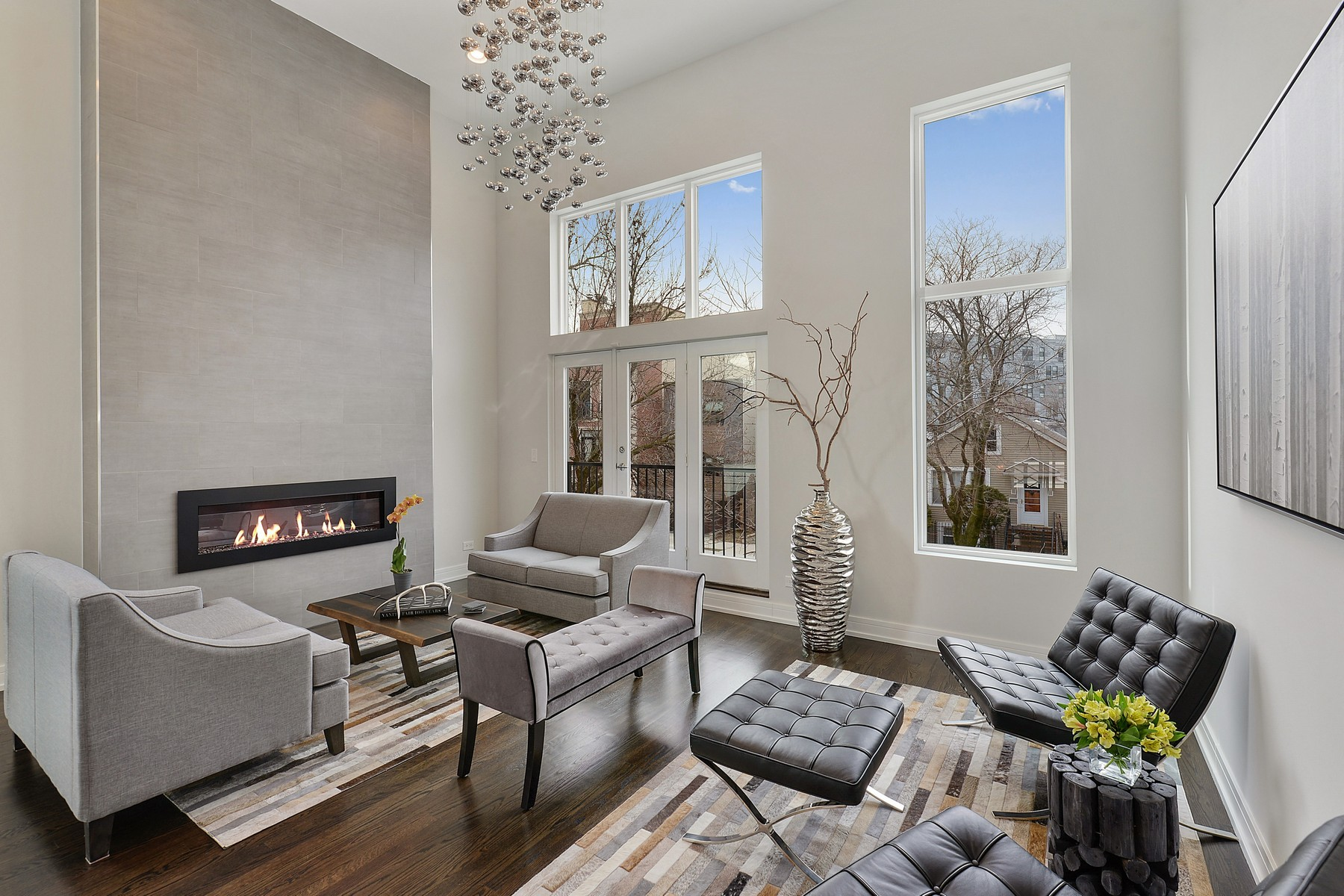 Single Family Home for Sale at Exquisite, Dramatic and Pristine Home 2159 N Rockwell Street, Logan Square, Chicago, Illinois, 60647 United States