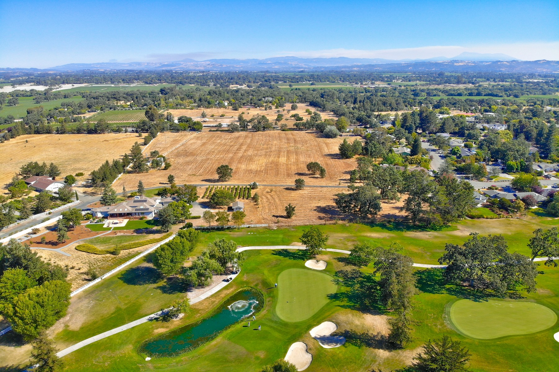 Land for Sale at Wine Country Golf Dream Estate Parcel 5350,5353 Oak Meadow Drive Santa Rosa, California 95401 United States