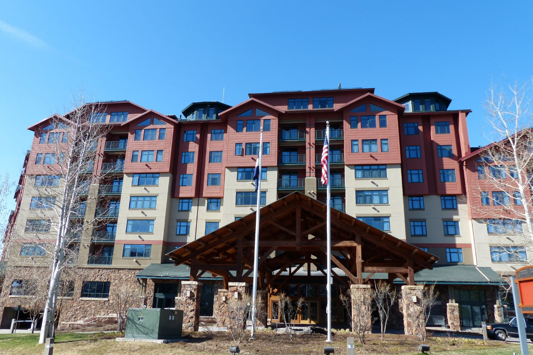 Condominio por un Venta en Steamboat Grand One Bedroom 2300 Mt. Werner Circle #428 Steamboat Springs, Colorado 80487 Estados Unidos