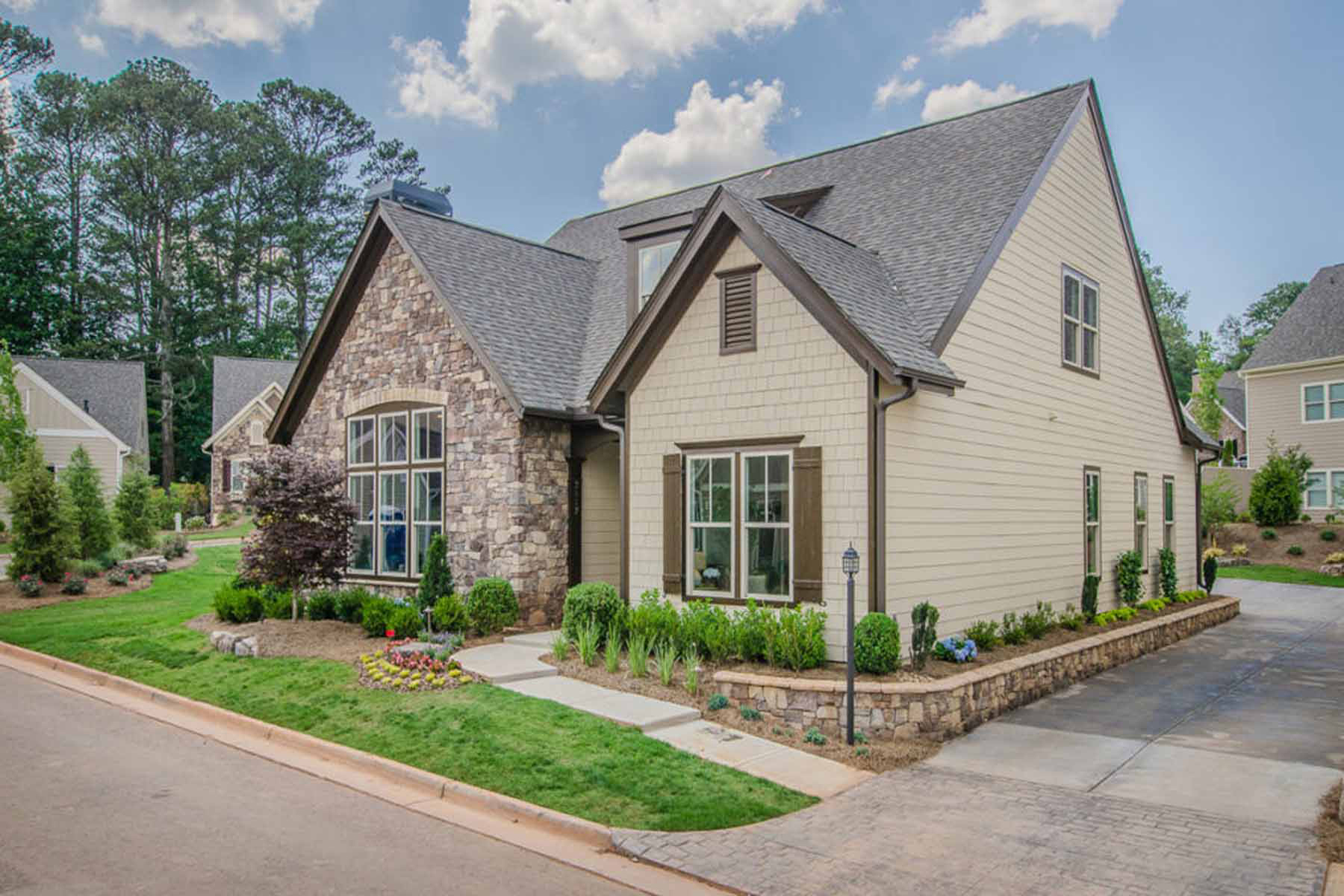 Single Family Homes for Sale at Luxury Active Adult Living 201 Foxtail Road Woodstock, Georgia 30188 United States