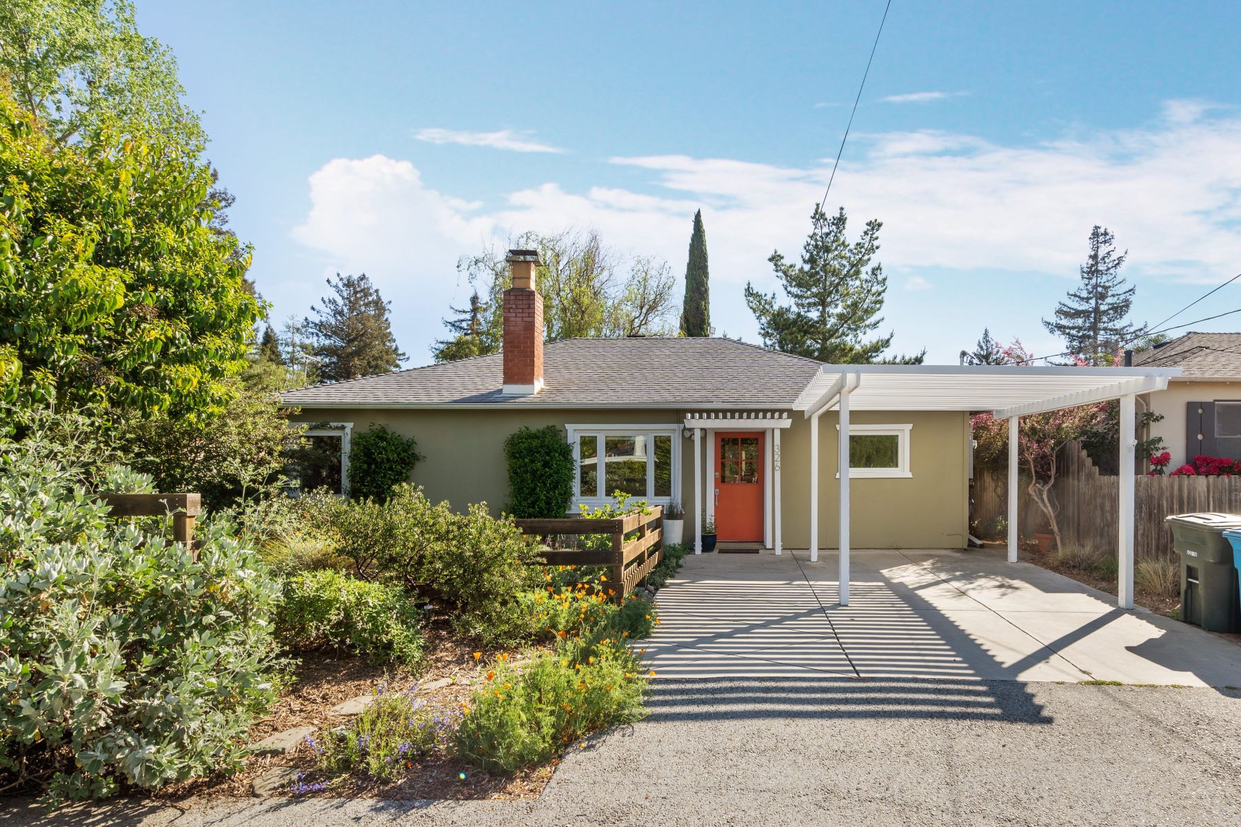 Single Family Homes for Active at California Bungalow + Native Garden 326 Belmont Ave Redwood City, California 94061 United States