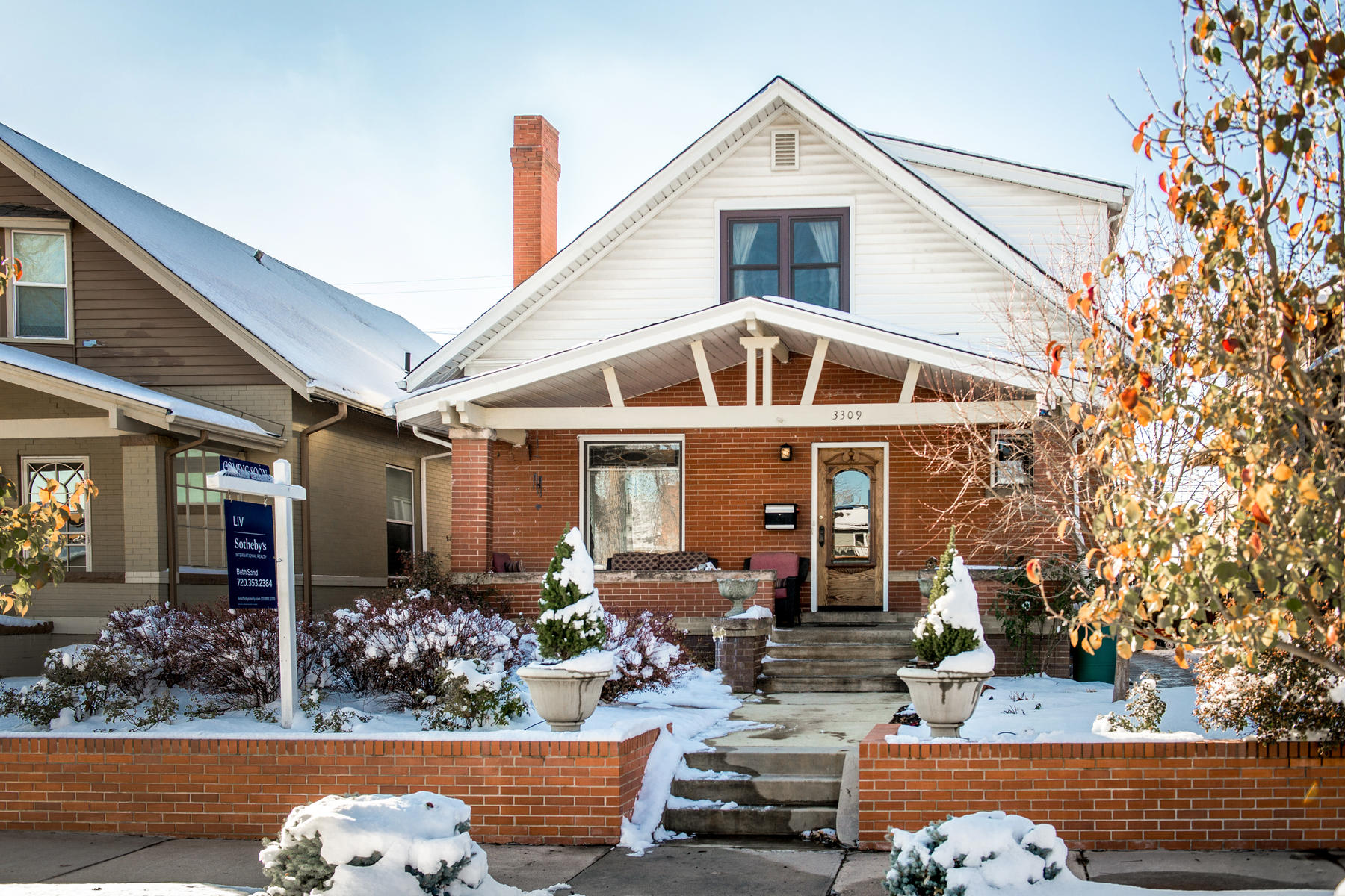 Single Family Home for Active at Lovingly Updated Craftsman-style Bungalow 3309 N Gaylord St Denver, Colorado 80205 United States