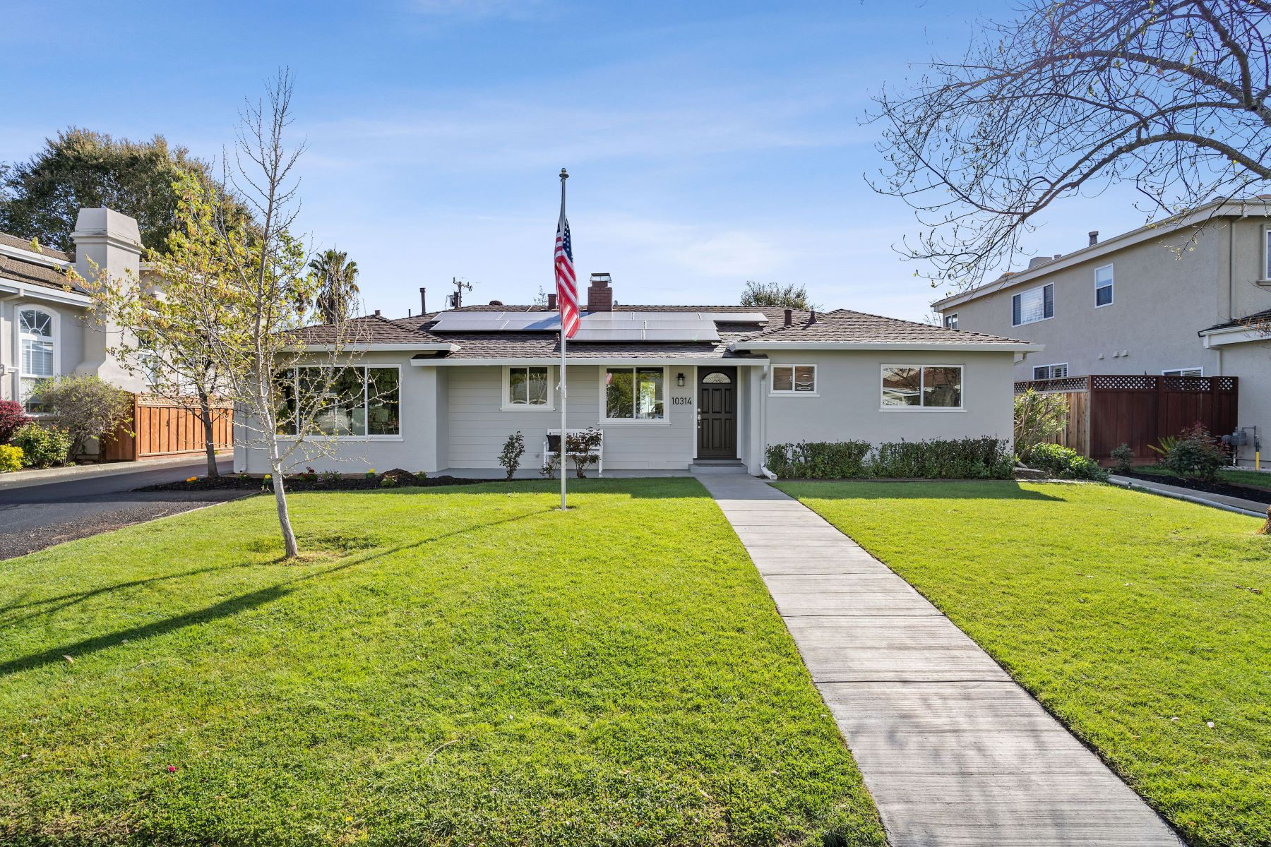 Single Family Homes for Active at Top Rated Cupertino Schools 10314 Mira Vista Road Cupertino, California 95014 United States