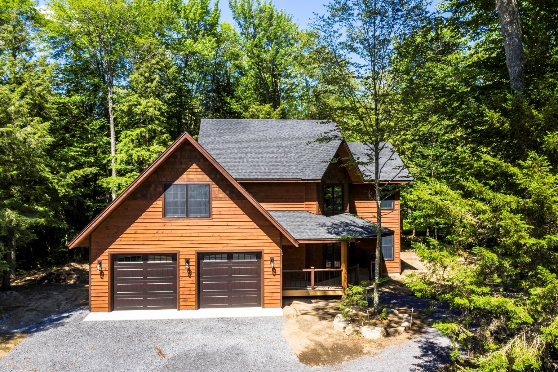Single Family Homes for Active at Custom Home with Fourth Lake Dock and Beach Rights 2773 South Shore Road Old Forge, New York 13420 United States