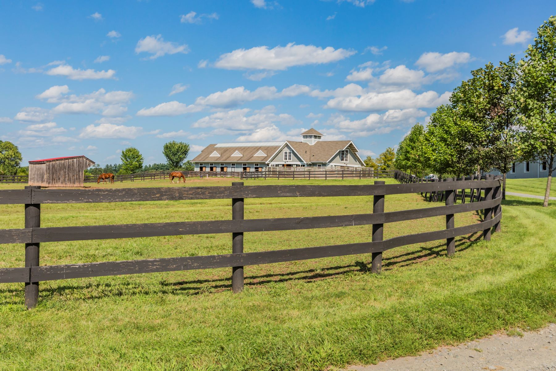 Additional photo for property listing at Extraordinary Equestrian Facility Near Downtown Princeton 1479 Great Road, Skillman, New Jersey 08558 United States
