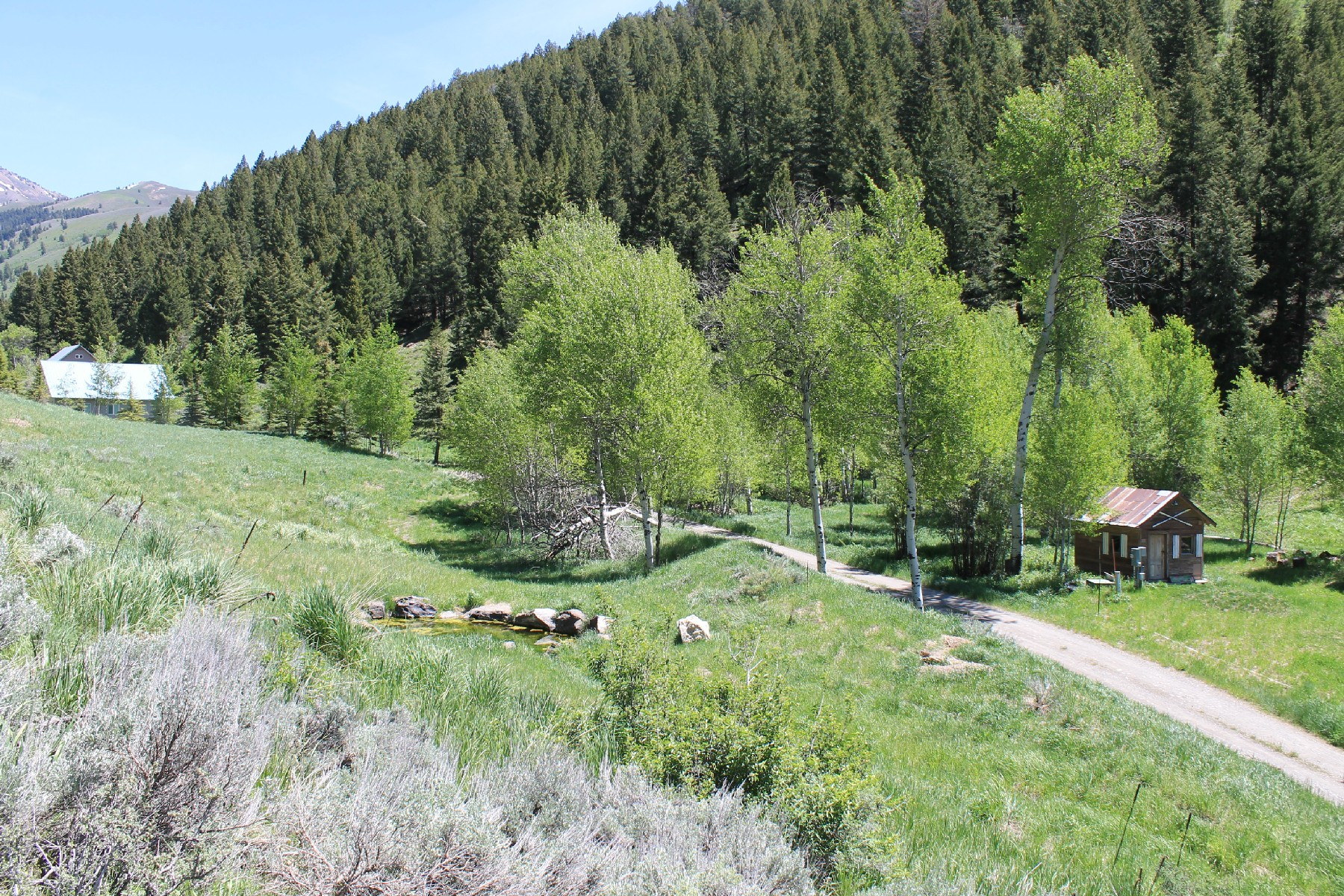 Terreno por un Venta en 20 Acres in Parker Gulch 921 Parker Gulch Road Sun Valley, Idaho 83353 Estados Unidos