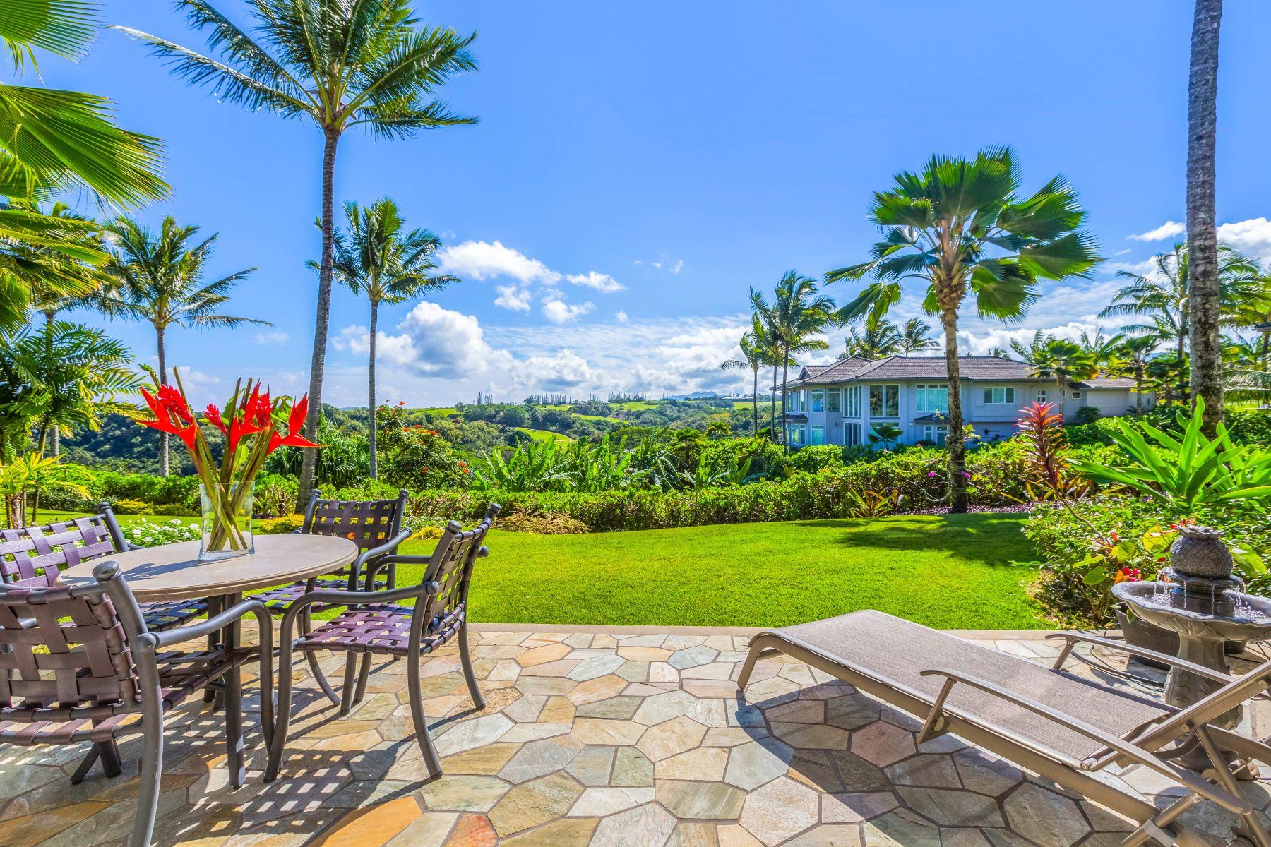 联栋屋 为 销售 在 Kaiulani of Princeville 4100 Queen Emmas Dr. #26 普林斯维尔, 夏威夷 96722 美国