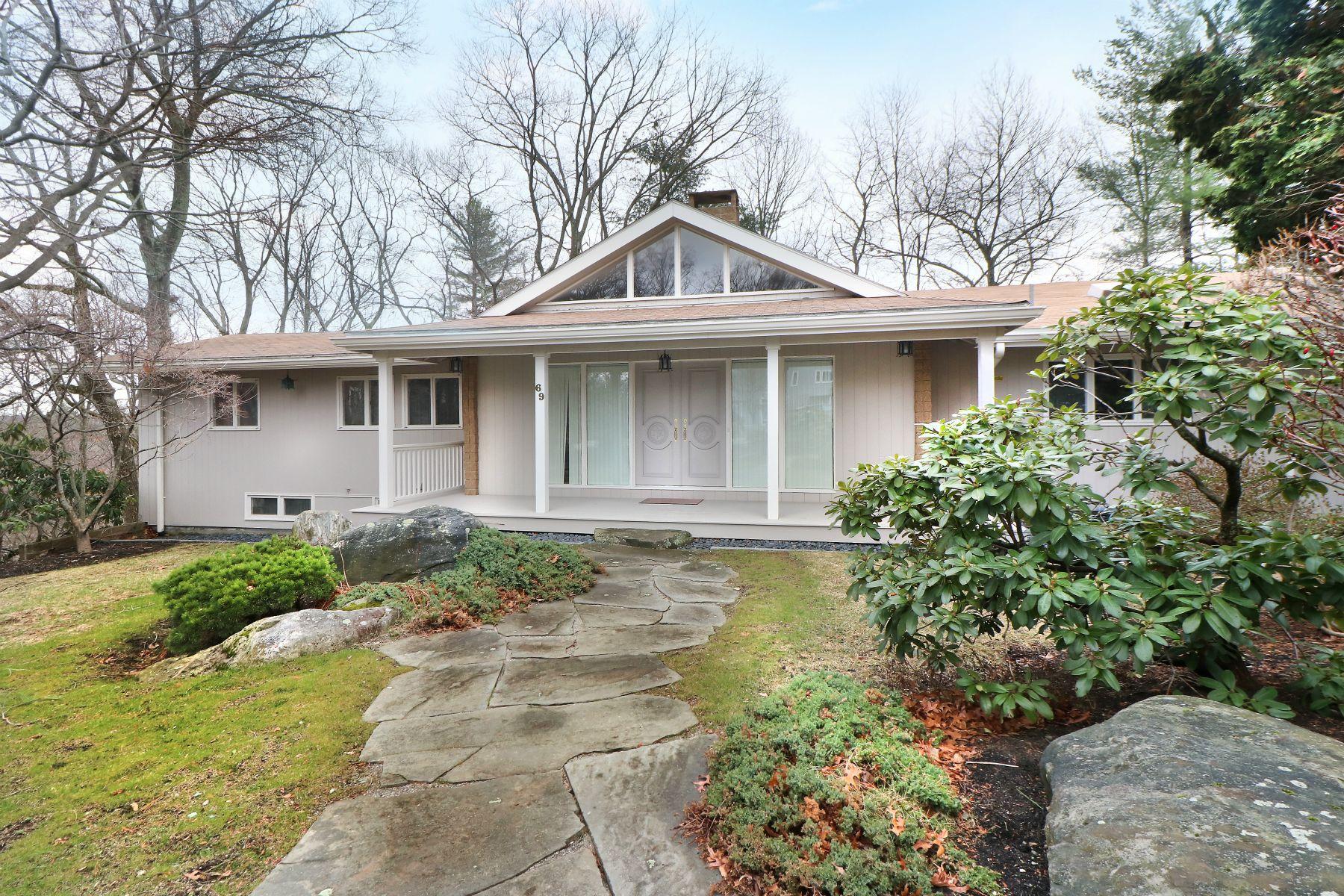 Частный односемейный дом для того Продажа на 69 Crestwood Rd, Newton Newton, Массачусетс 02465 Соединенные Штаты