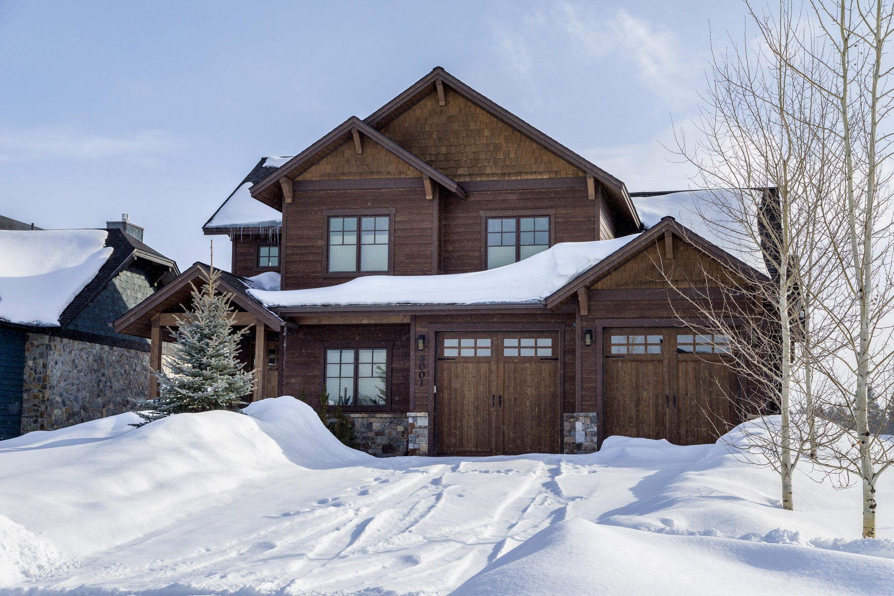 Single Family Home for Sale at 5001 Flatwater Dr , Whitefish, MT 59937 5001 Flatwater Dr, Whitefish, Montana, 59937 United States