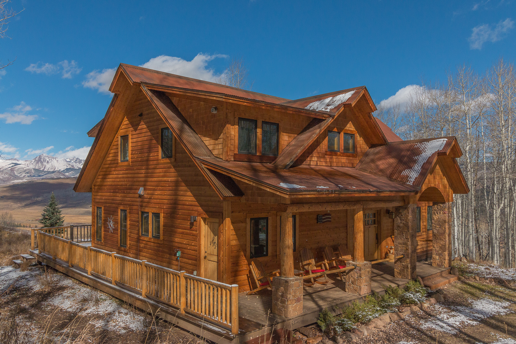 Casa Unifamiliar por un Venta en Secluded Retreat with Views 496 White Buffalo Trail, Crested Butte, Colorado, 81224 Estados Unidos