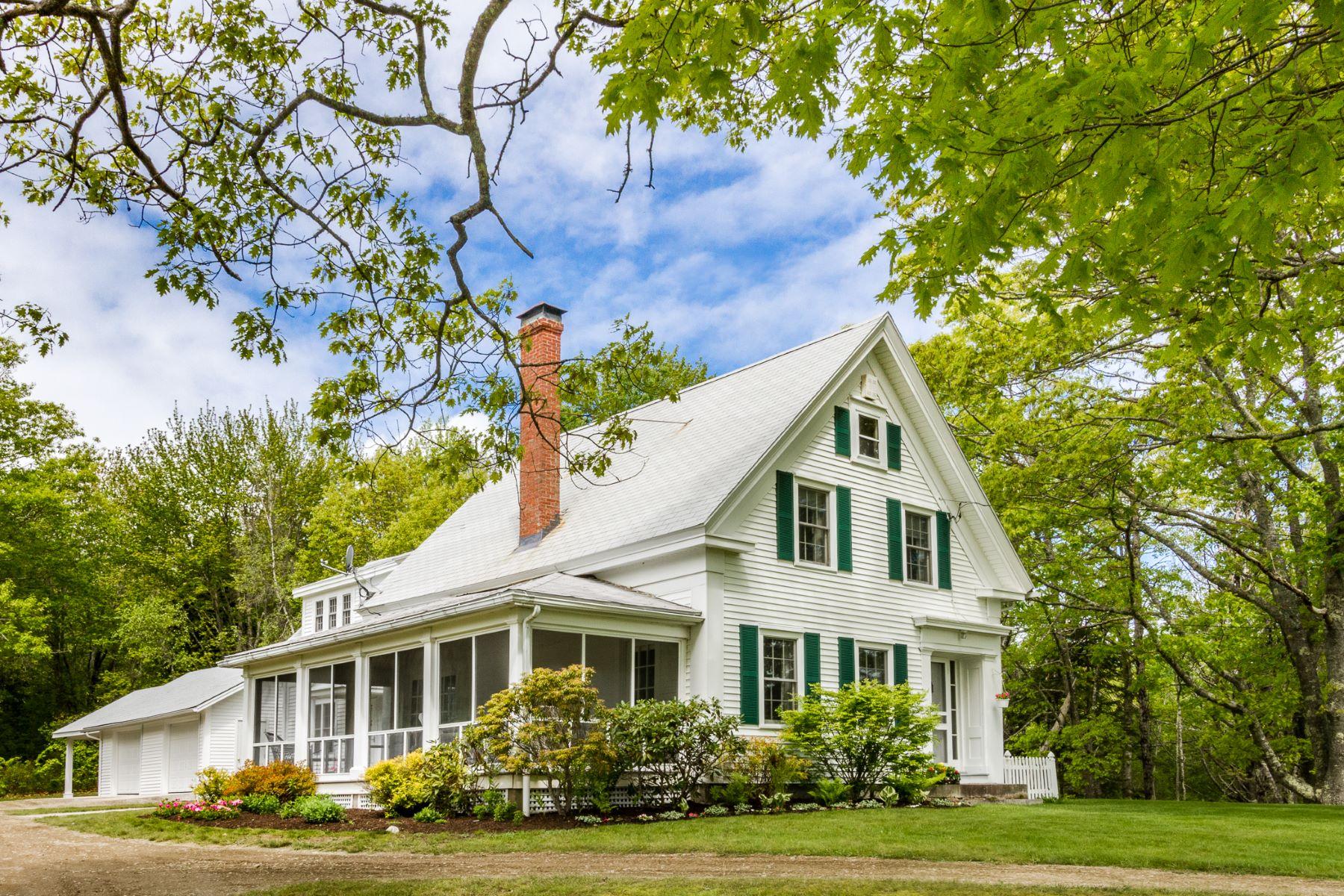 獨棟家庭住宅 為 出售 在 1505 & 1512 Newbury Neck Road Surry, 緬因州, 04684 美國