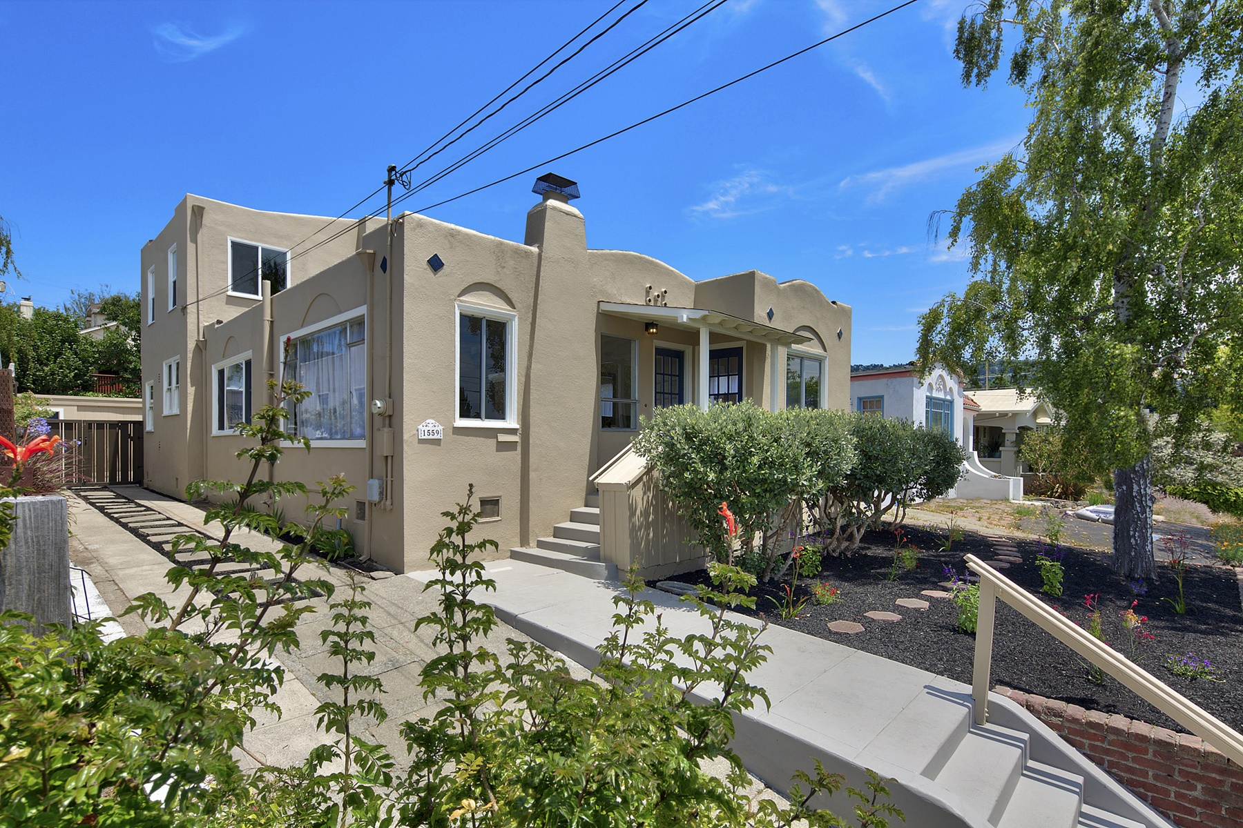 Single Family Home for Sale at Charming Bungalow With Views 1559 Posen Avenue Berkeley, California 94706 United States