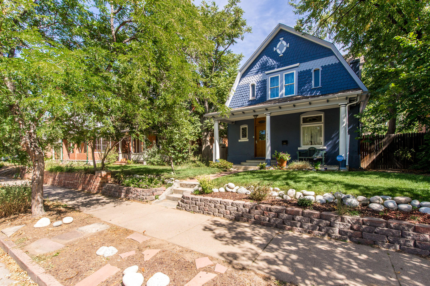 Single Family Home for Active at Turn Of The Century Victorian Charmer Perfectly Situated In Washington Park West 1036 South Pearl Street Denver, Colorado 80209 United States