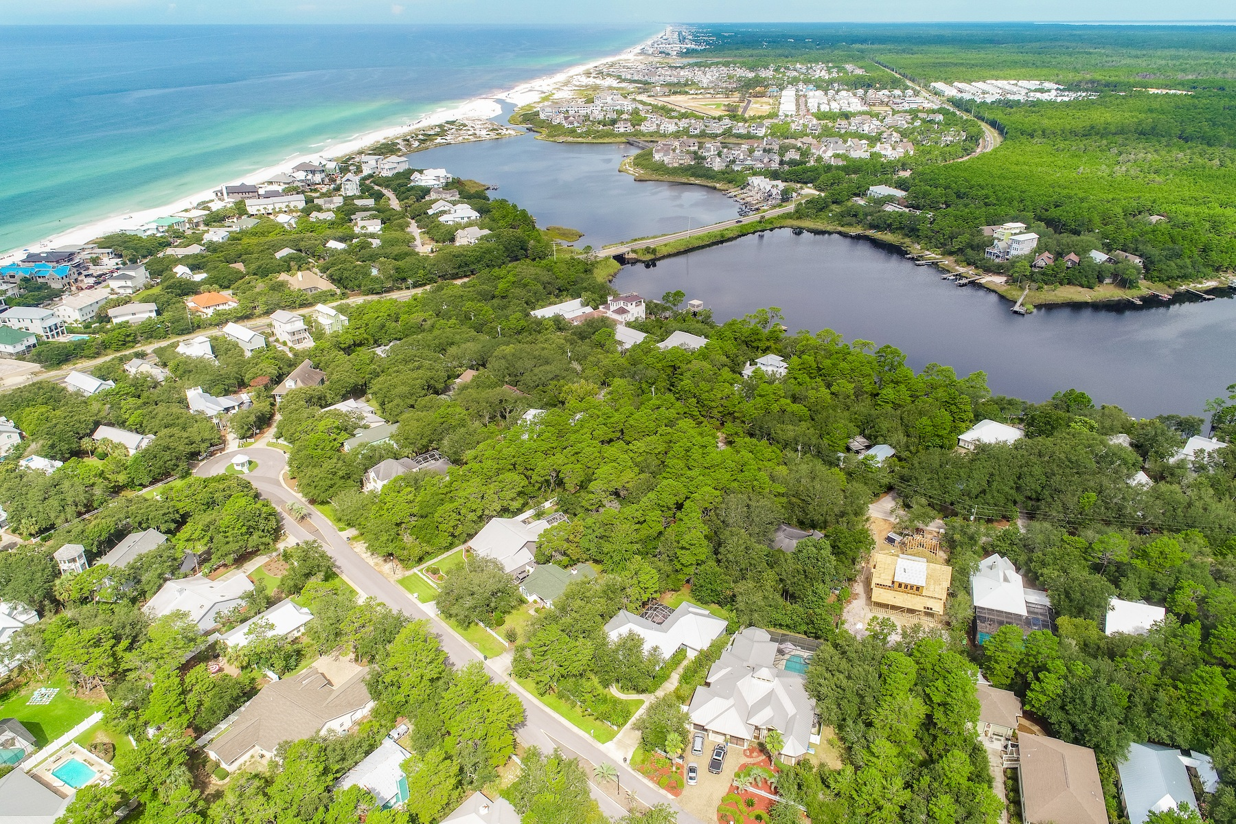 Land for Active at Prime Lot in Seagrove Lot 25 Camp Creek Rd South Inlet Beach, Florida 32461 United States
