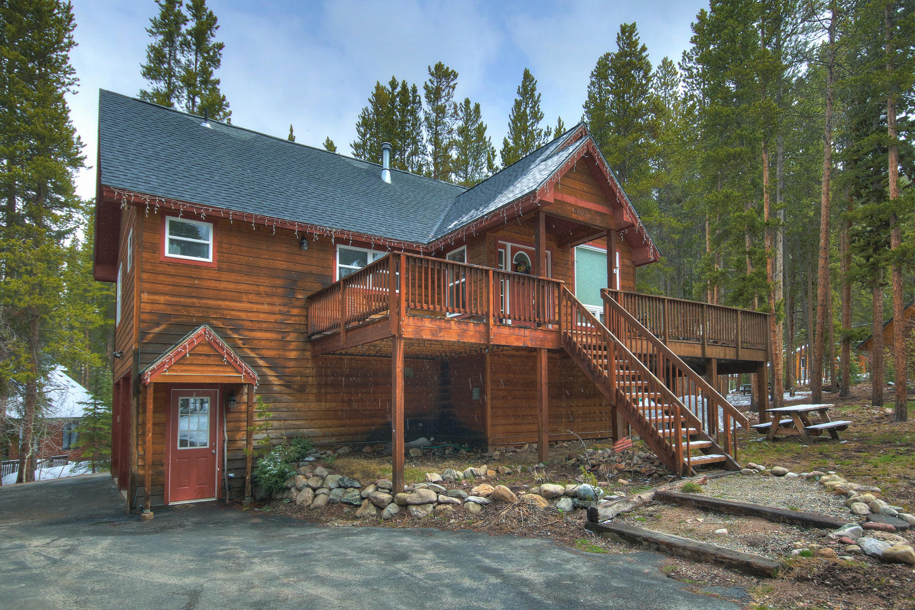Single Family Homes por un Venta en Quintessential Cabin in the Woods 29 Regal Circle, Blue River, Colorado 80424 Estados Unidos