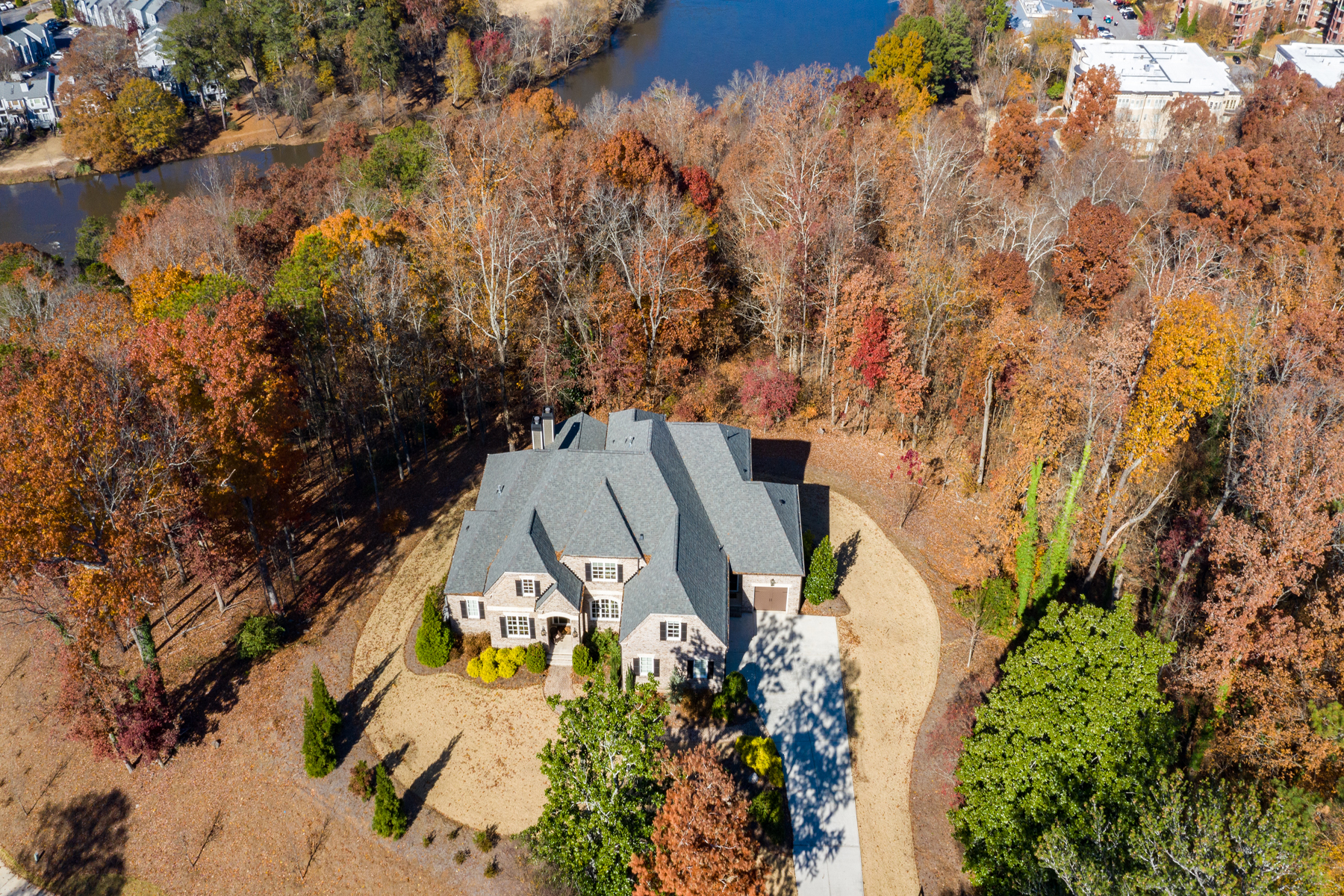 Single Family Homes for Active at Better Than New Custom Home on 2.5+/- Acres 5020 Riverview Road Sandy Springs, Georgia 30327 United States