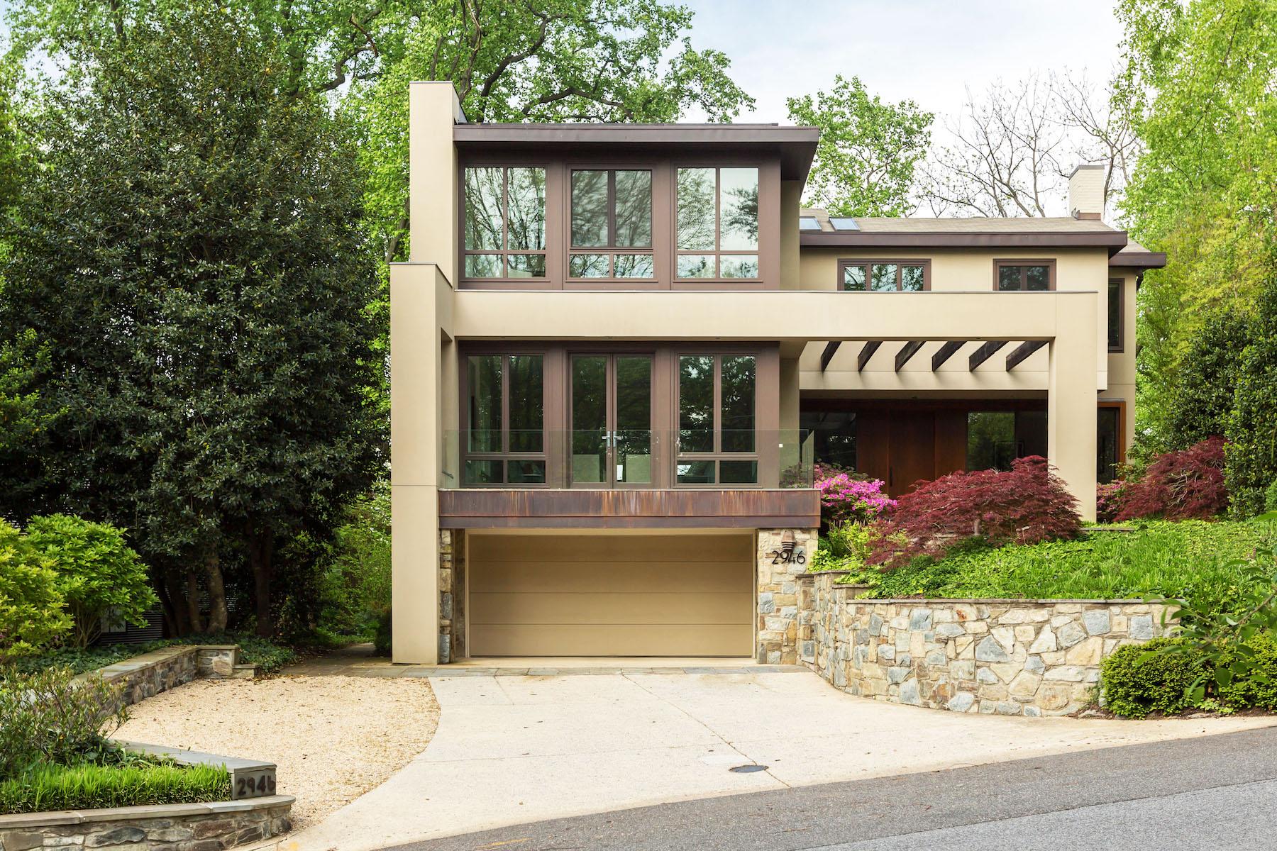 独户住宅 为 销售 在 Kent 2946 Chain Bridge Road Nw 华盛顿市, 哥伦比亚特区, 20016 美国