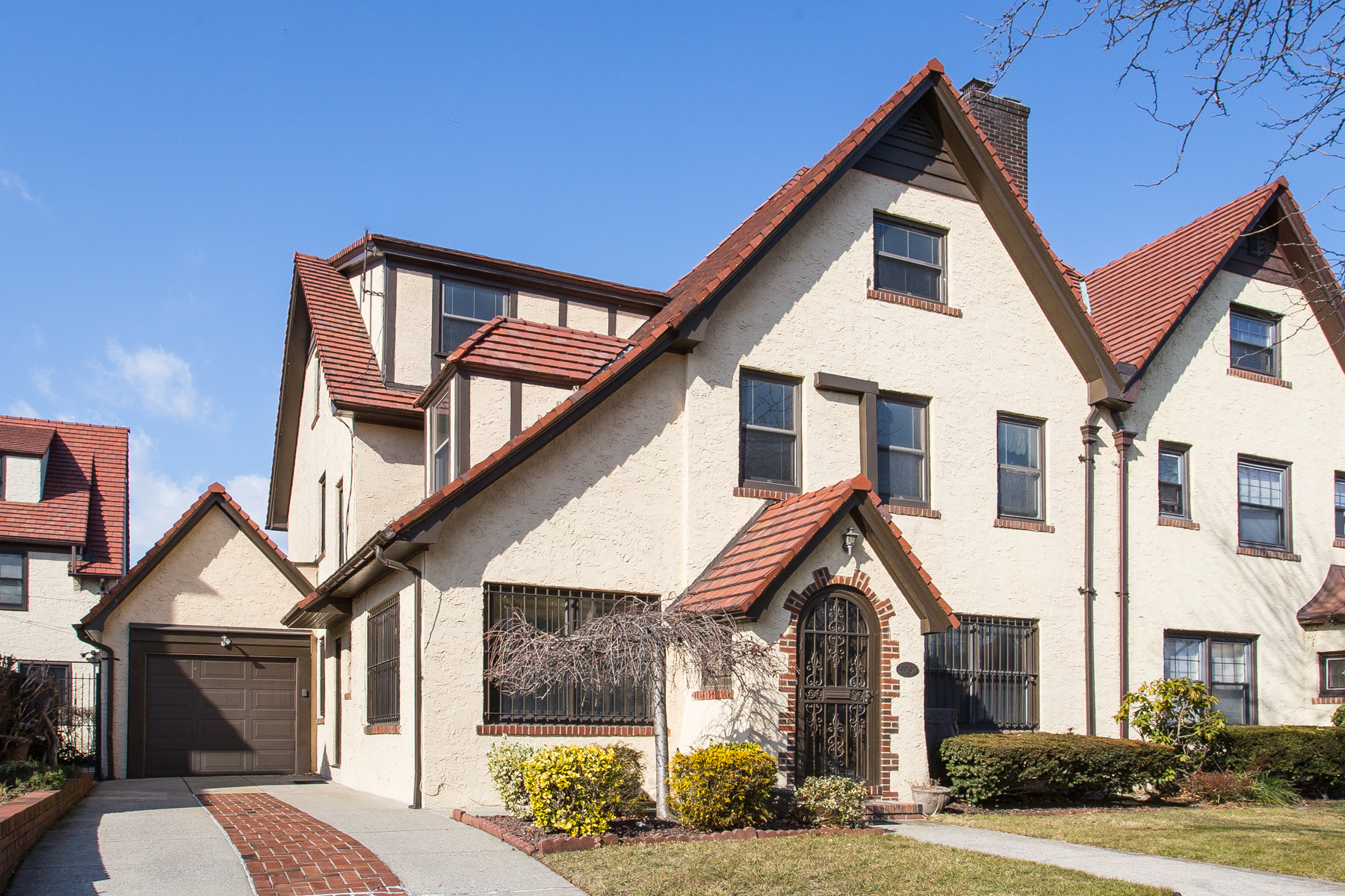 """Single Family Homes for Sale at """"TUDOR STYLED CHARMER"""" 100-07 Herrick Avenue, Forest Hills, New York 11375 United States"""