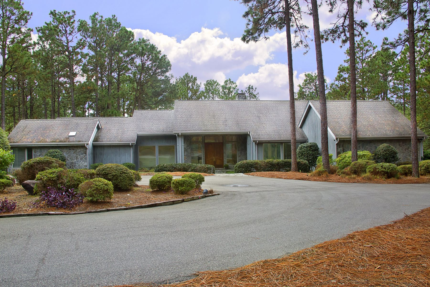 Single Family Homes for Active at Stately Contemporary with Magnificent Golf Views! 80 Cypress Point Drive Pinehurst, North Carolina 28374 United States