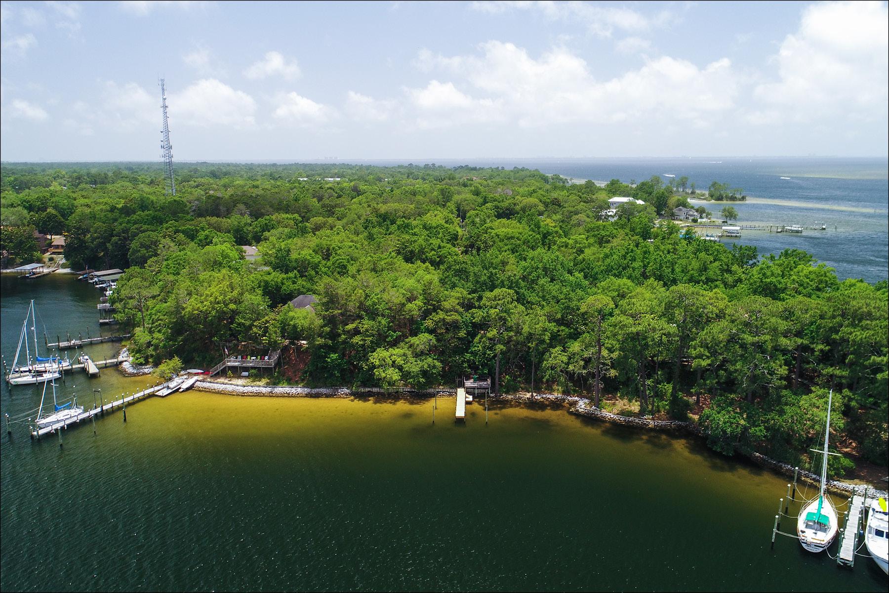 土地 為 出售 在 PRIVATE WATERFRONT LOT WITH NO BOAT SIZE RESTRICTION Lot 1 Nelson Point Road Niceville, 佛羅里達州, 32578 美國