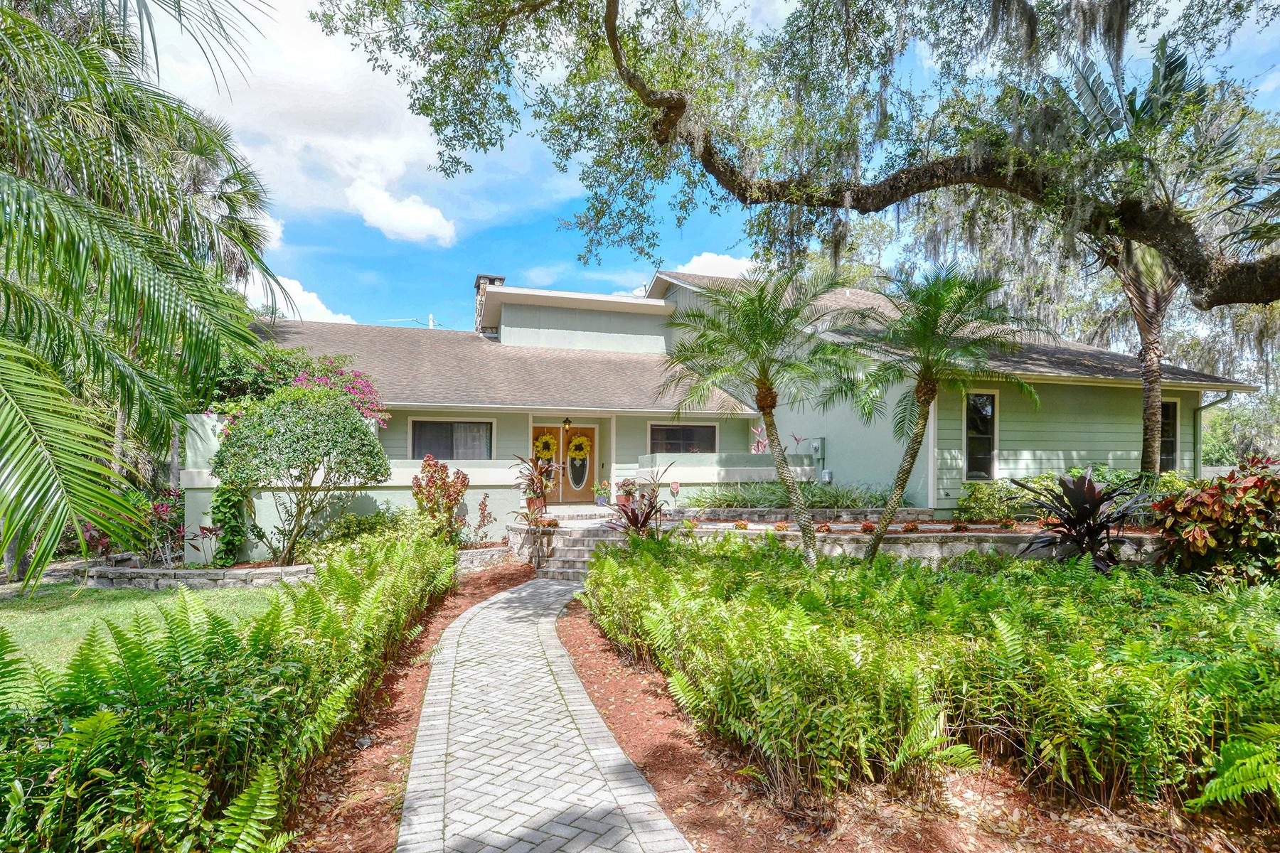 Single Family Homes por un Venta en HIDDEN OAKS 4721 Stone Ridge Trl Sarasota, Florida 34232 Estados Unidos