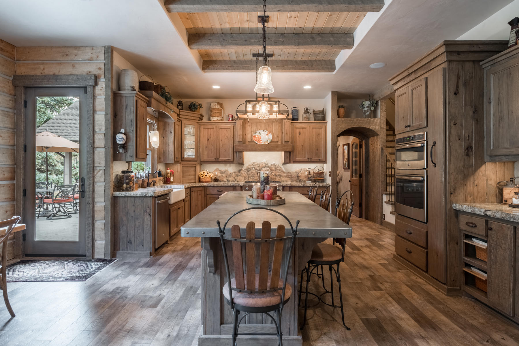 Additional photo for property listing at Custom Creekside Living! 34503 Upper Bear Creek Road Evergreen, Colorado 80439 United States