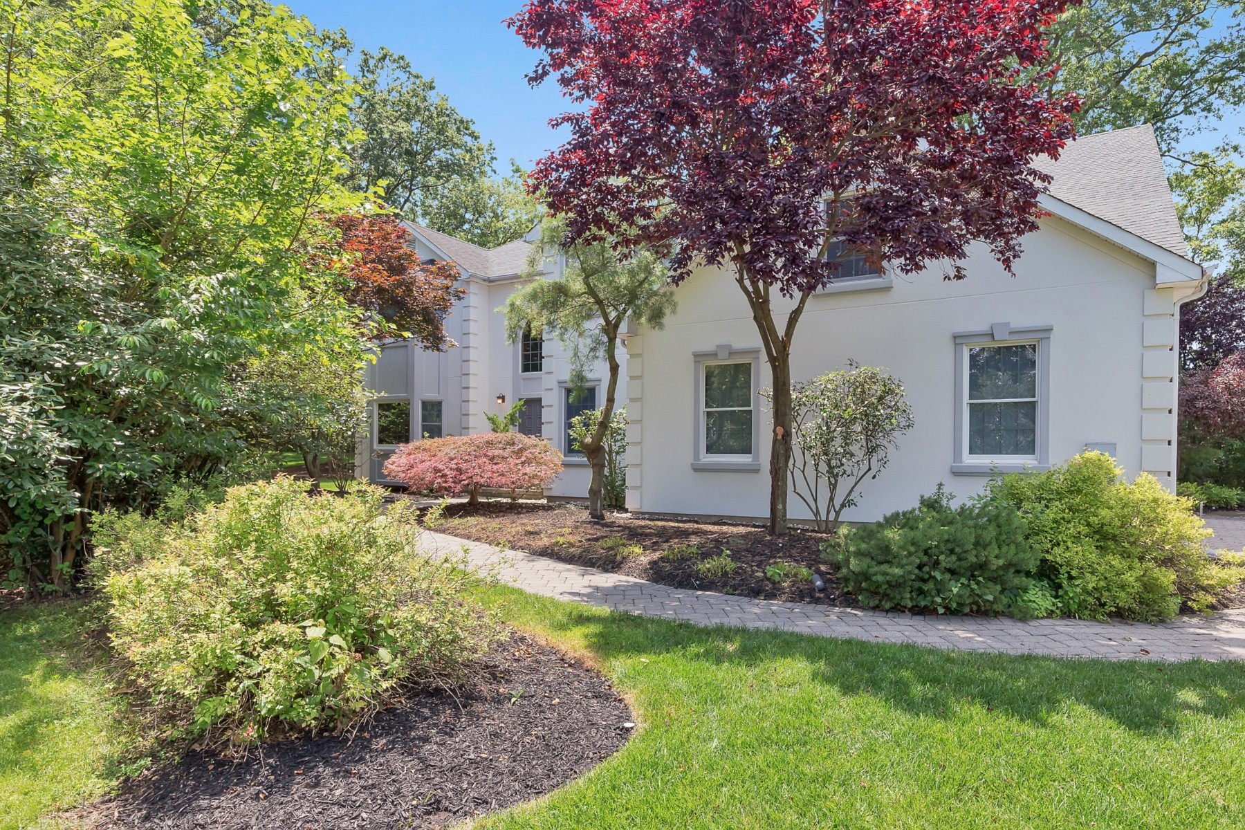 Single Family Home for Sale at Basque in the Privacy of Your Backyard which Backs up to a Golf Course 9 Jenna Lane Edison, New Jersey 08820 United States