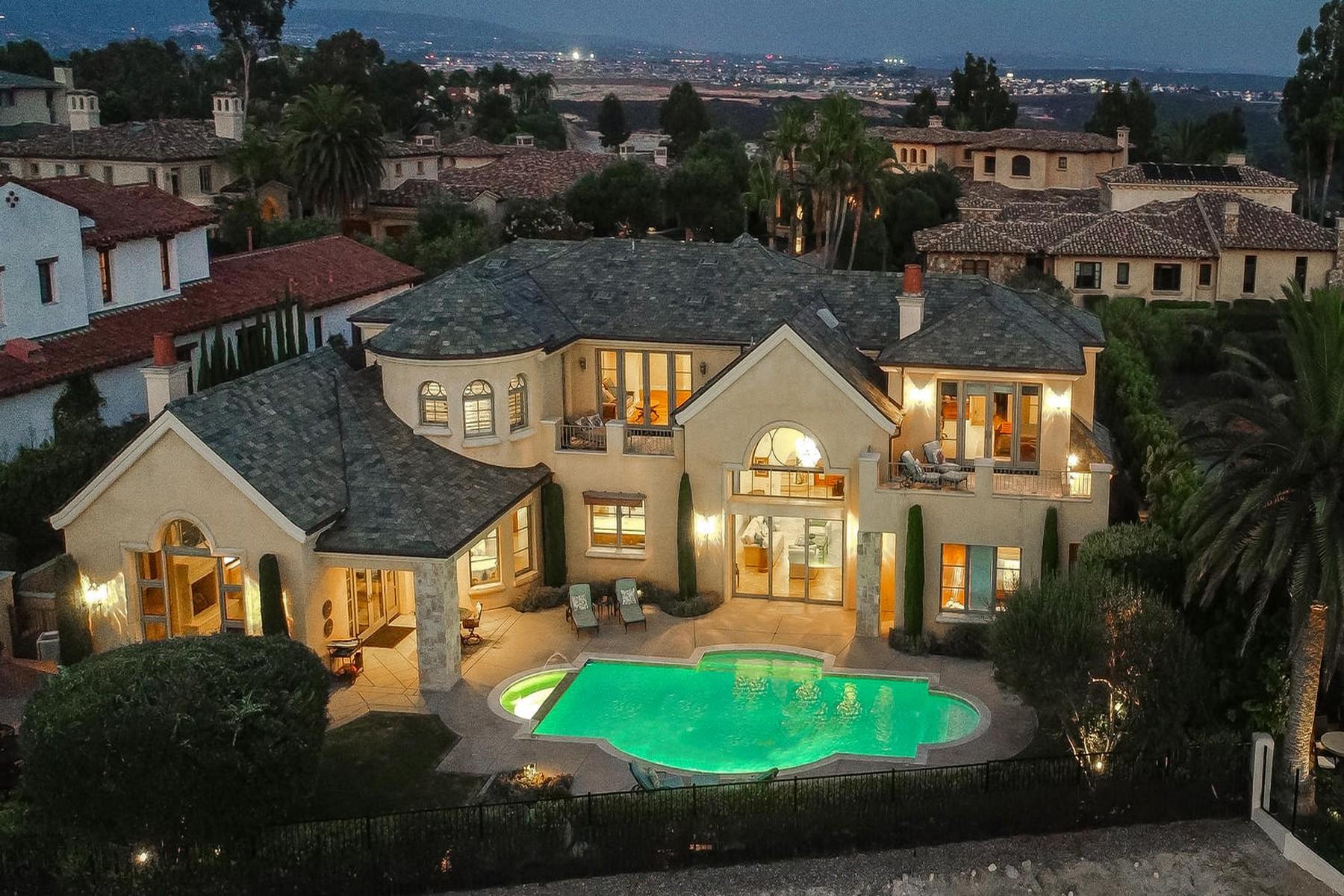 Single Family Homes por un Venta en 13990 Rancho Solana Trail San Diego, California 92130 Estados Unidos